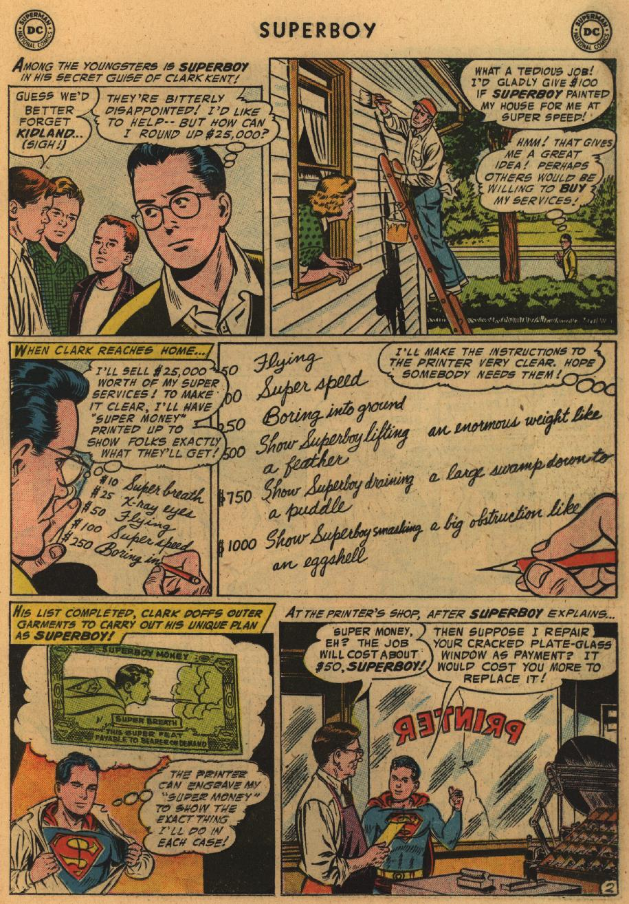 Superboy (1949) issue 51 - Page 18