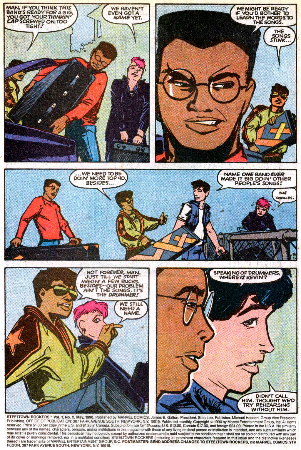 Steeltown Rockers issue 2 - Page 2