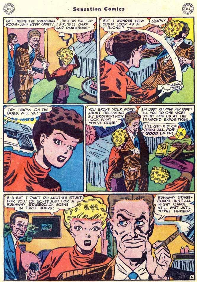 Read online Sensation (Mystery) Comics comic -  Issue #89 - 46