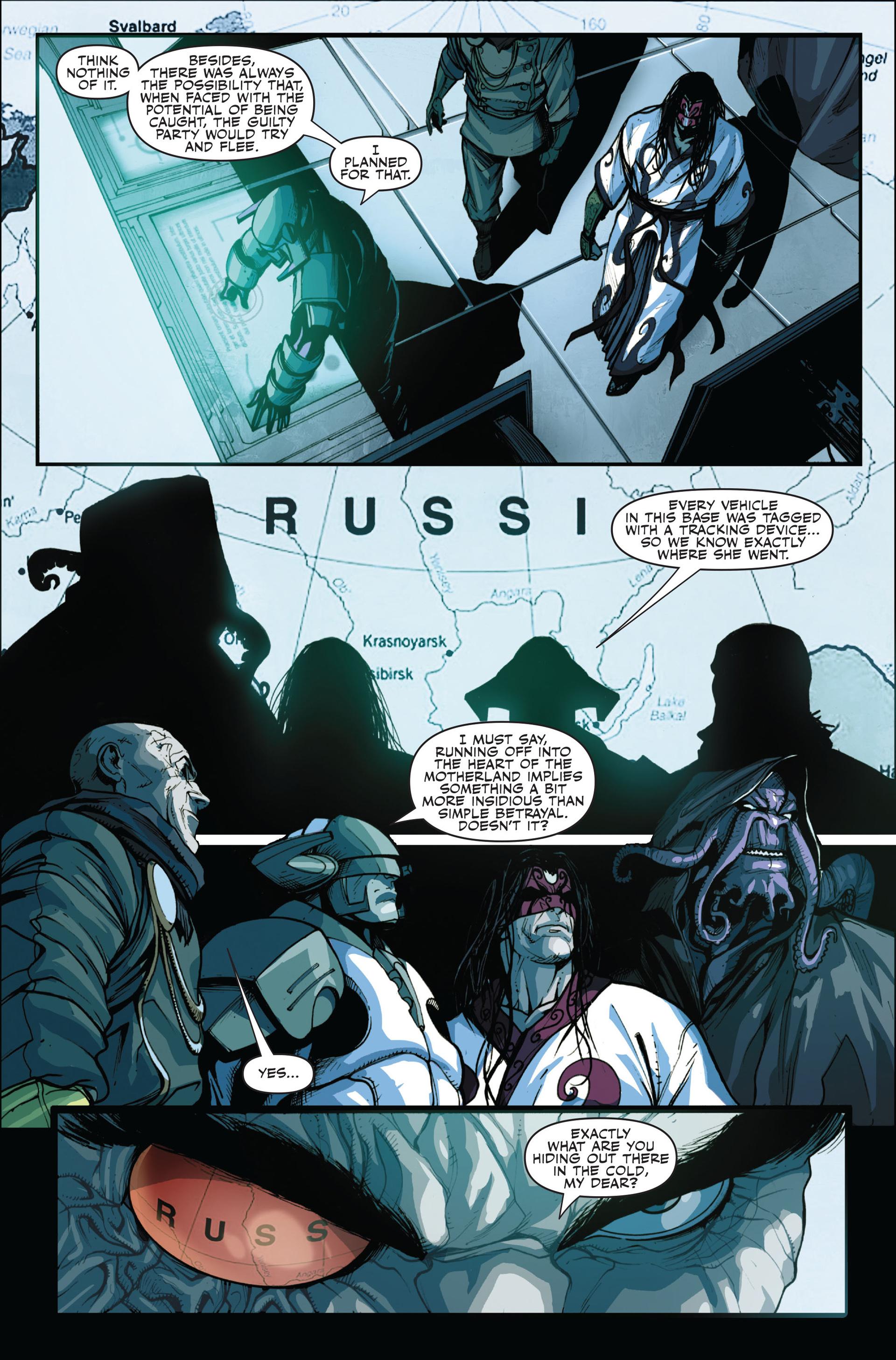 Read online Secret Warriors comic -  Issue #14 - 20