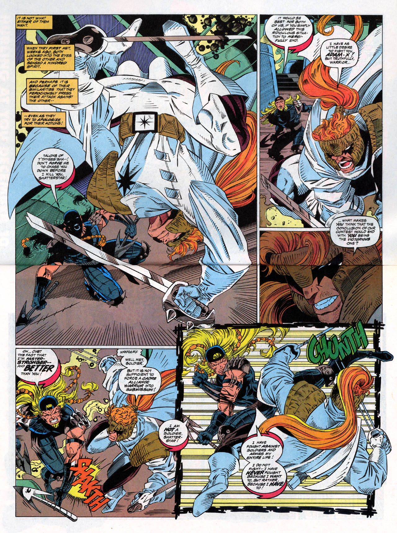 Read online X-Force (1991) comic -  Issue #30 - 4