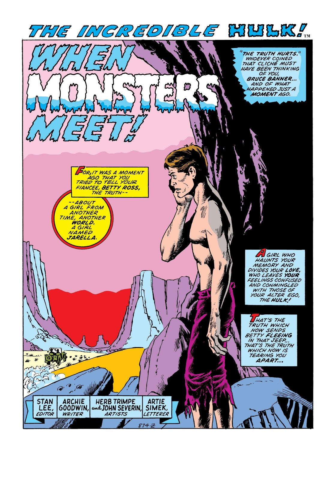 Read online Marvel Masterworks: The Incredible Hulk comic -  Issue # TPB 8 (Part 2) - 53