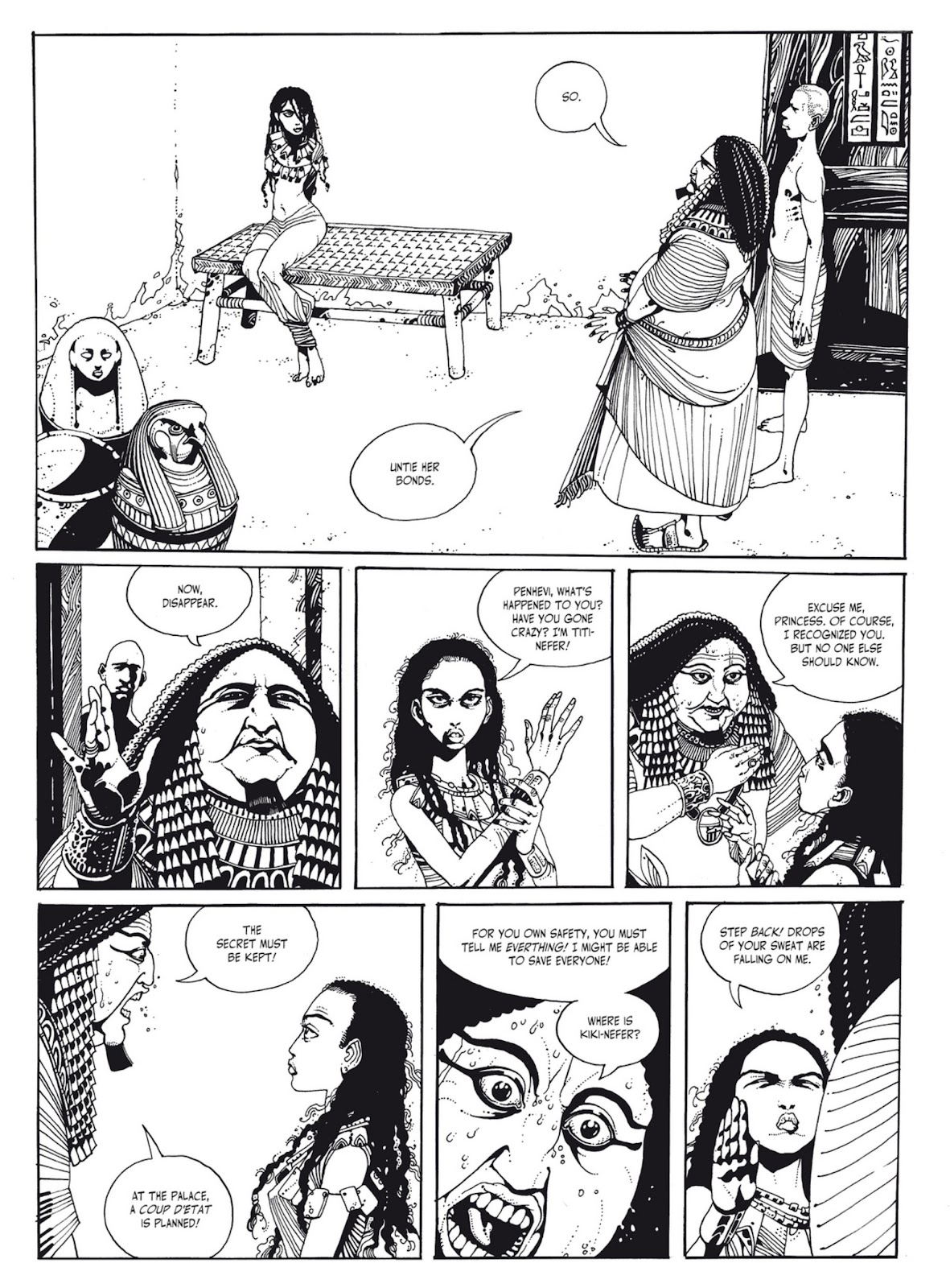 Read online The Egyptian Princesses comic -  Issue # TPB 1 (Part 1) - 88