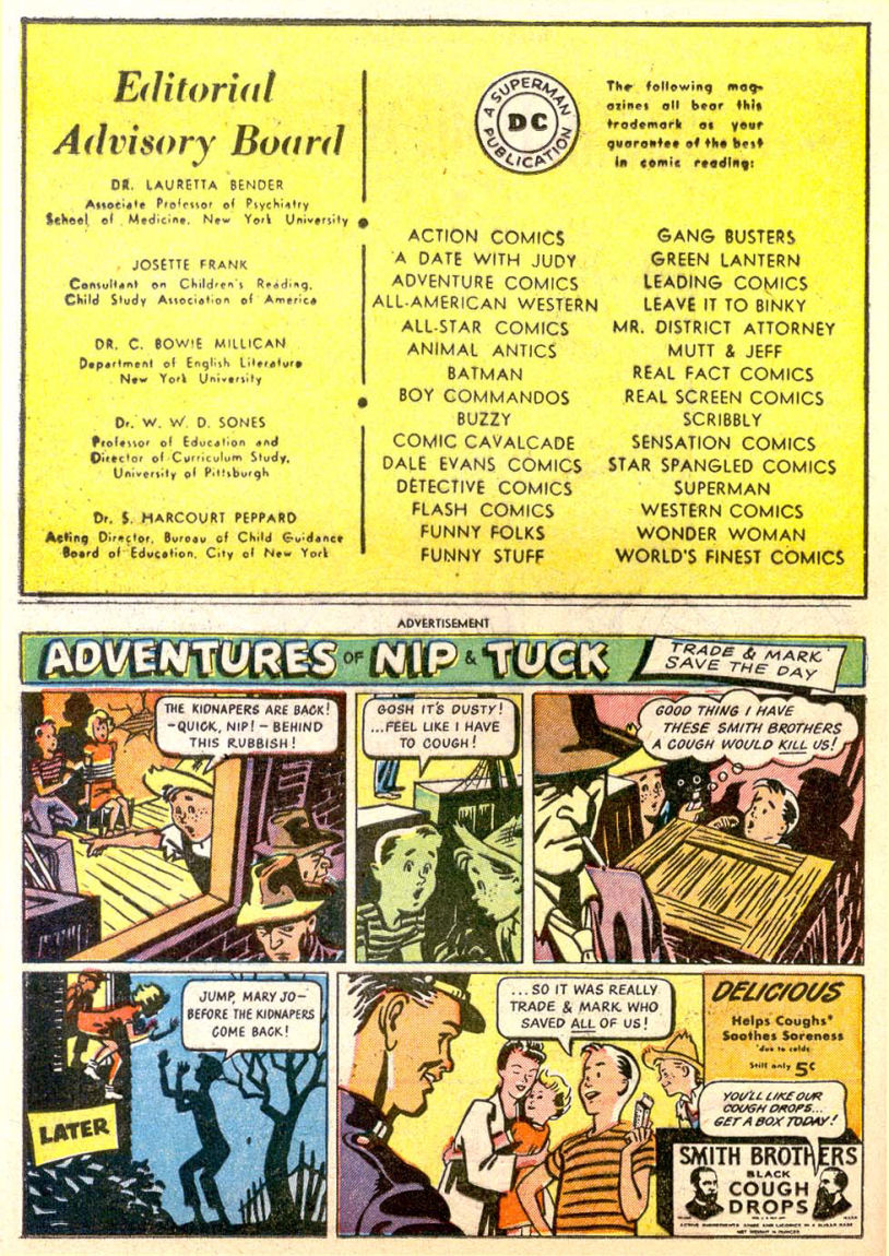 Read online Sensation (Mystery) Comics comic -  Issue #85 - 33