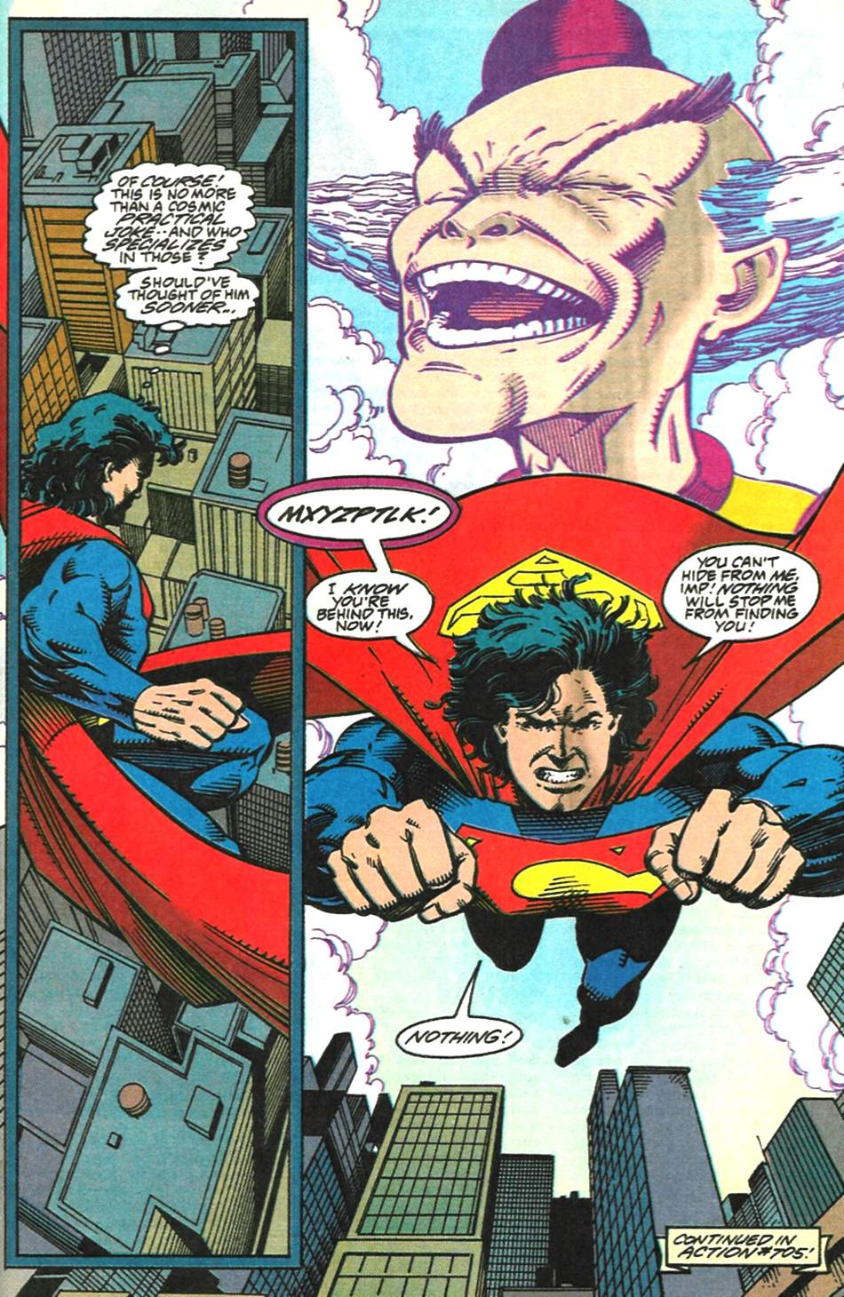 Read online Adventures of Superman (1987) comic -  Issue #518 - 23