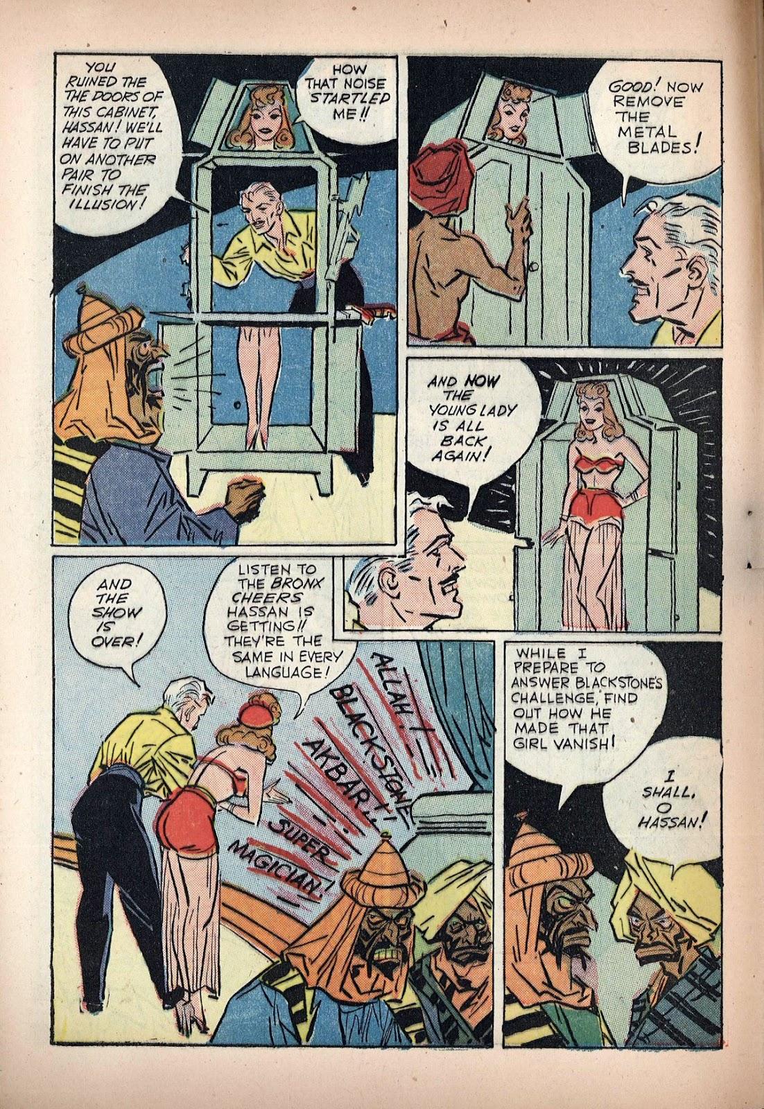 Read online Super-Magician Comics comic -  Issue #20 - 14