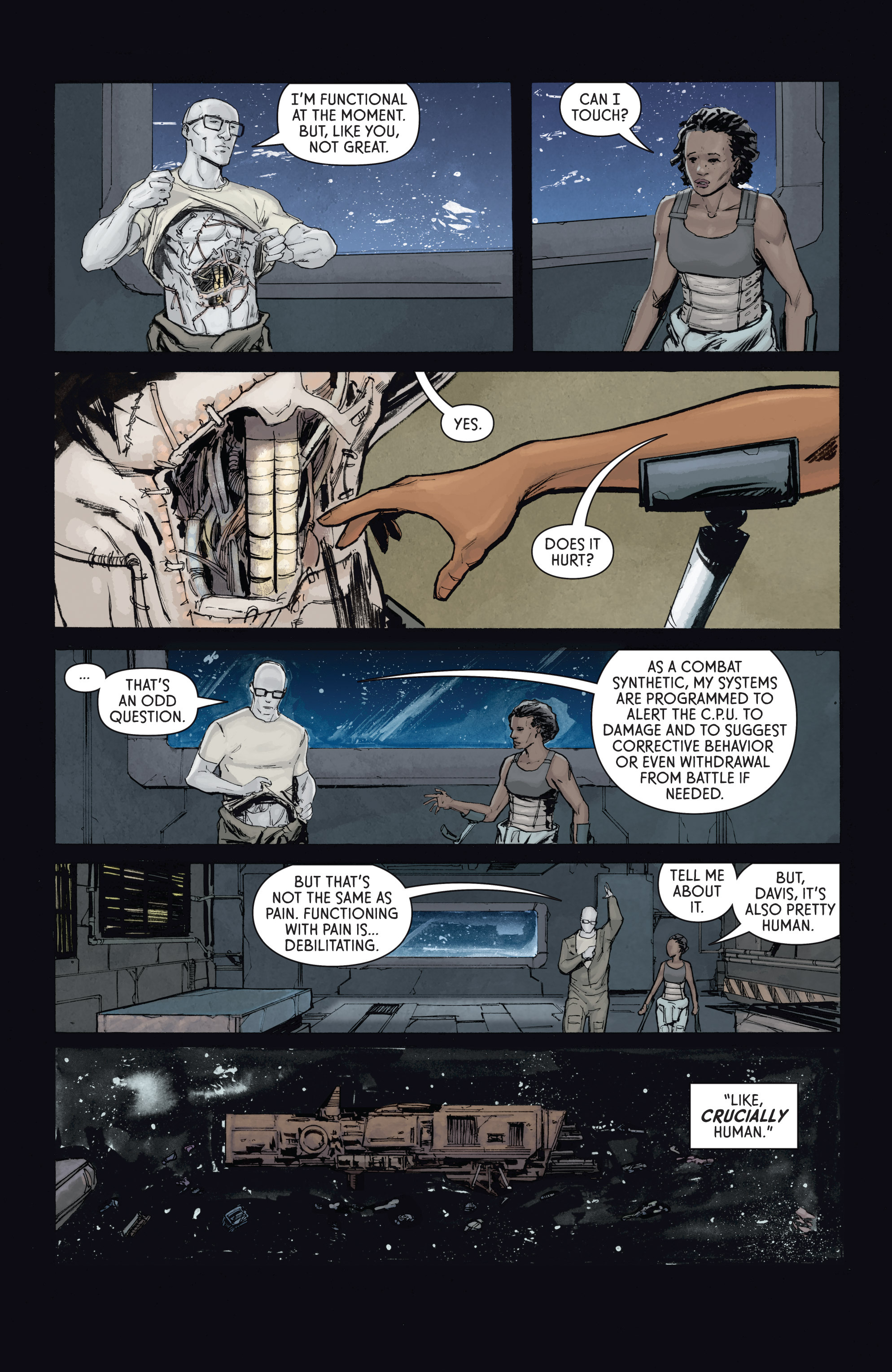 Read online Aliens: Defiance comic -  Issue #4 - 21
