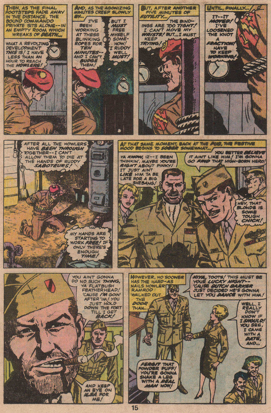 Read online Sgt. Fury comic -  Issue #142 - 17