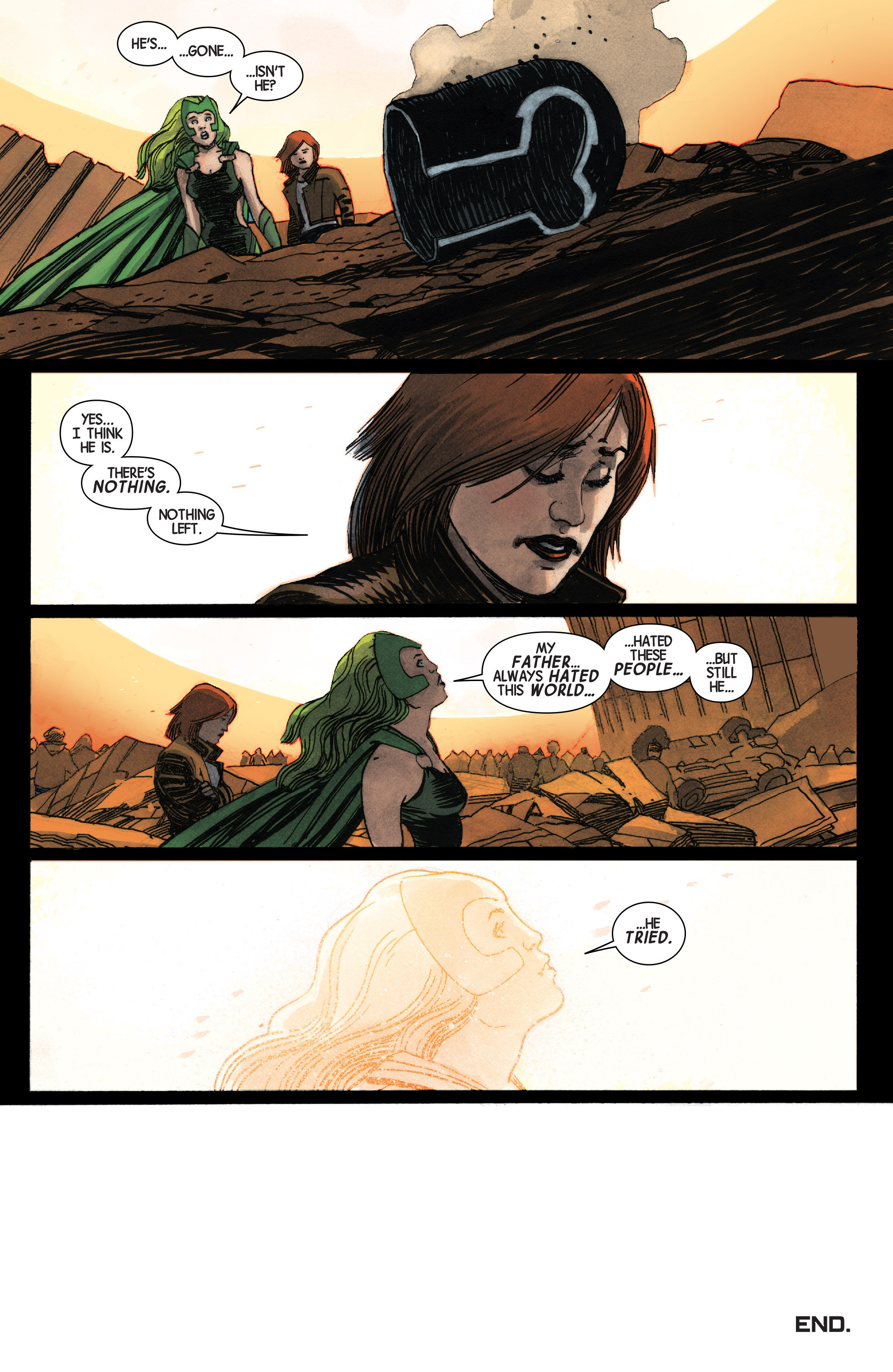 Read online Secret Wars: Last Days of the Marvel Universe comic -  Issue # TPB (Part 1) - 214