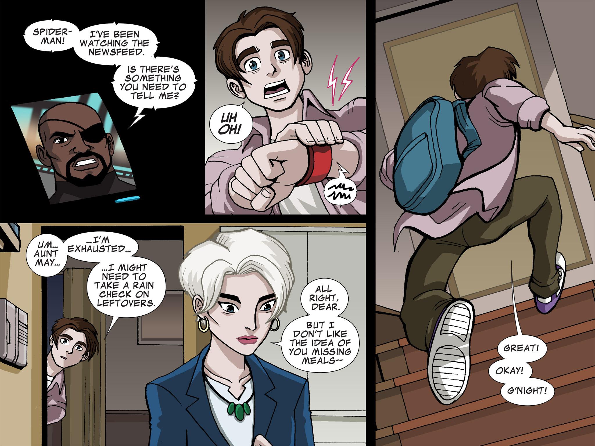 Read online Ultimate Spider-Man (Infinite Comics) (2015) comic -  Issue #17 - 25