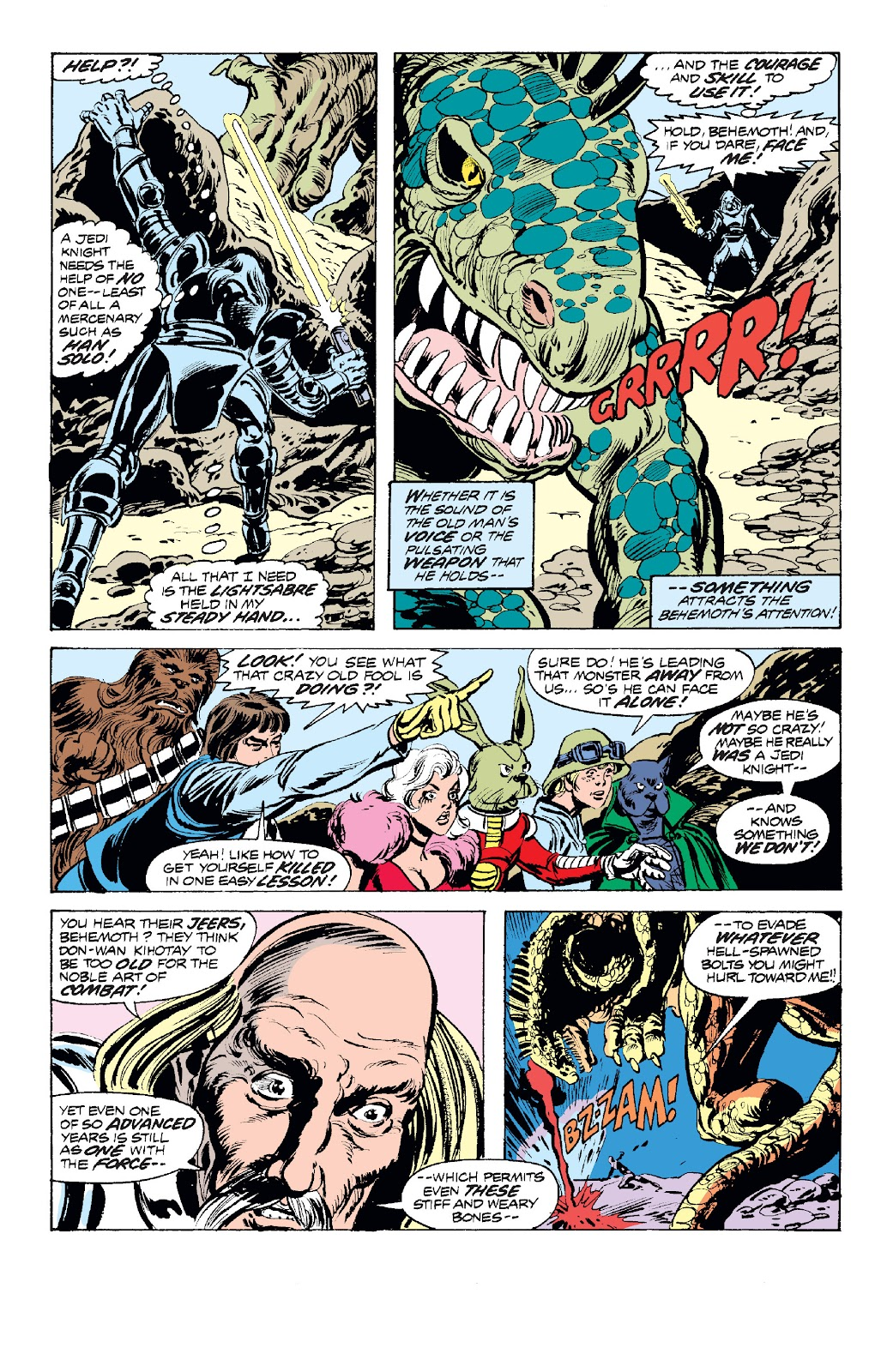 Read online Star Wars Legends: The Original Marvel Years - Epic Collection comic -  Issue # TPB 1 (Part 2) - 83