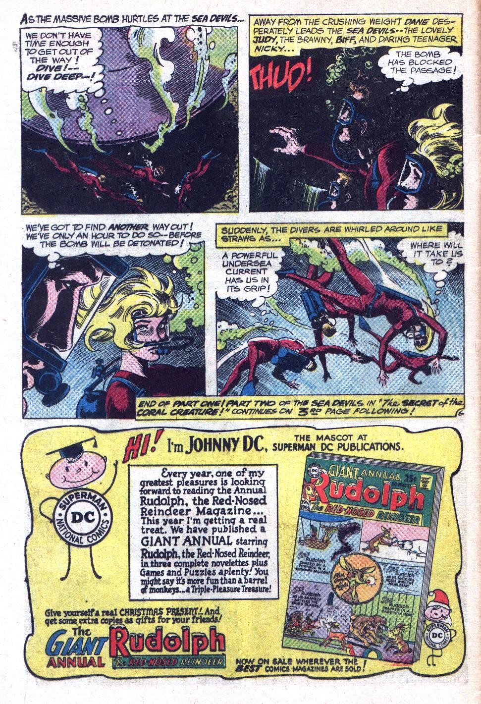 Read online Sea Devils comic -  Issue #9 - 9