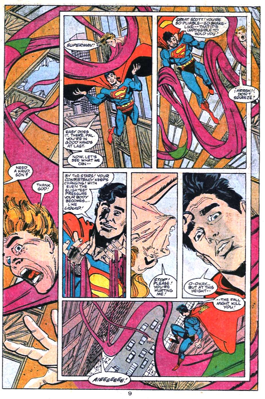 Read online Adventures of Superman (1987) comic -  Issue #458 - 10