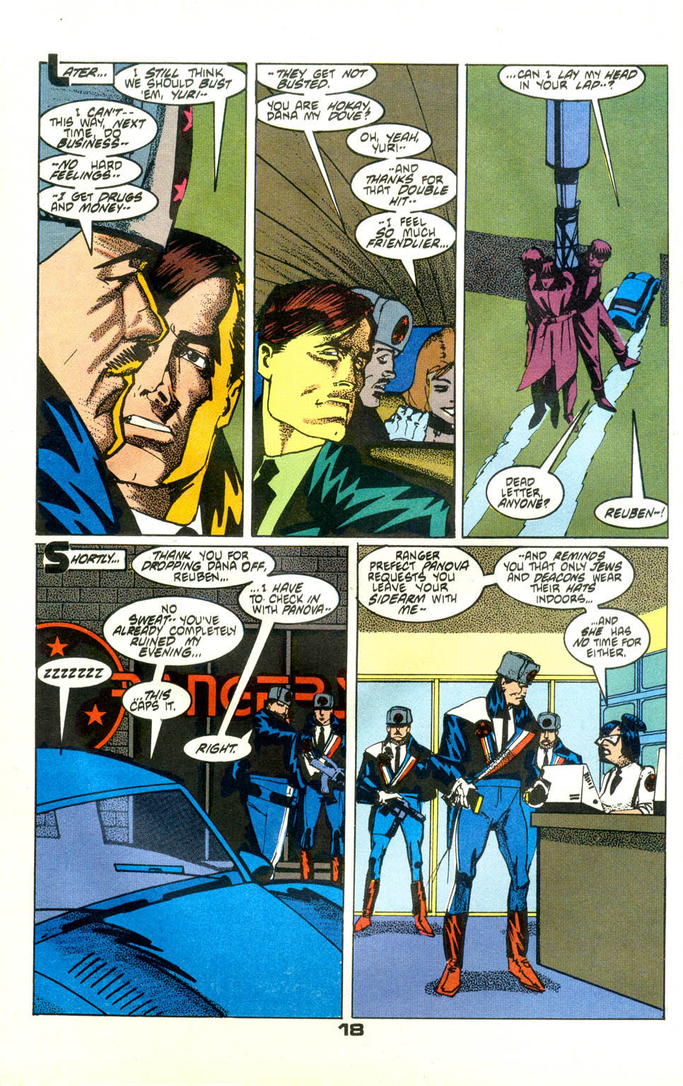 Read online American Flagg! comic -  Issue #24 - 20