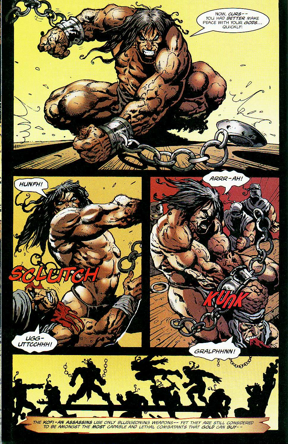 Read online Conan: Return of Styrm comic -  Issue #1 - 18