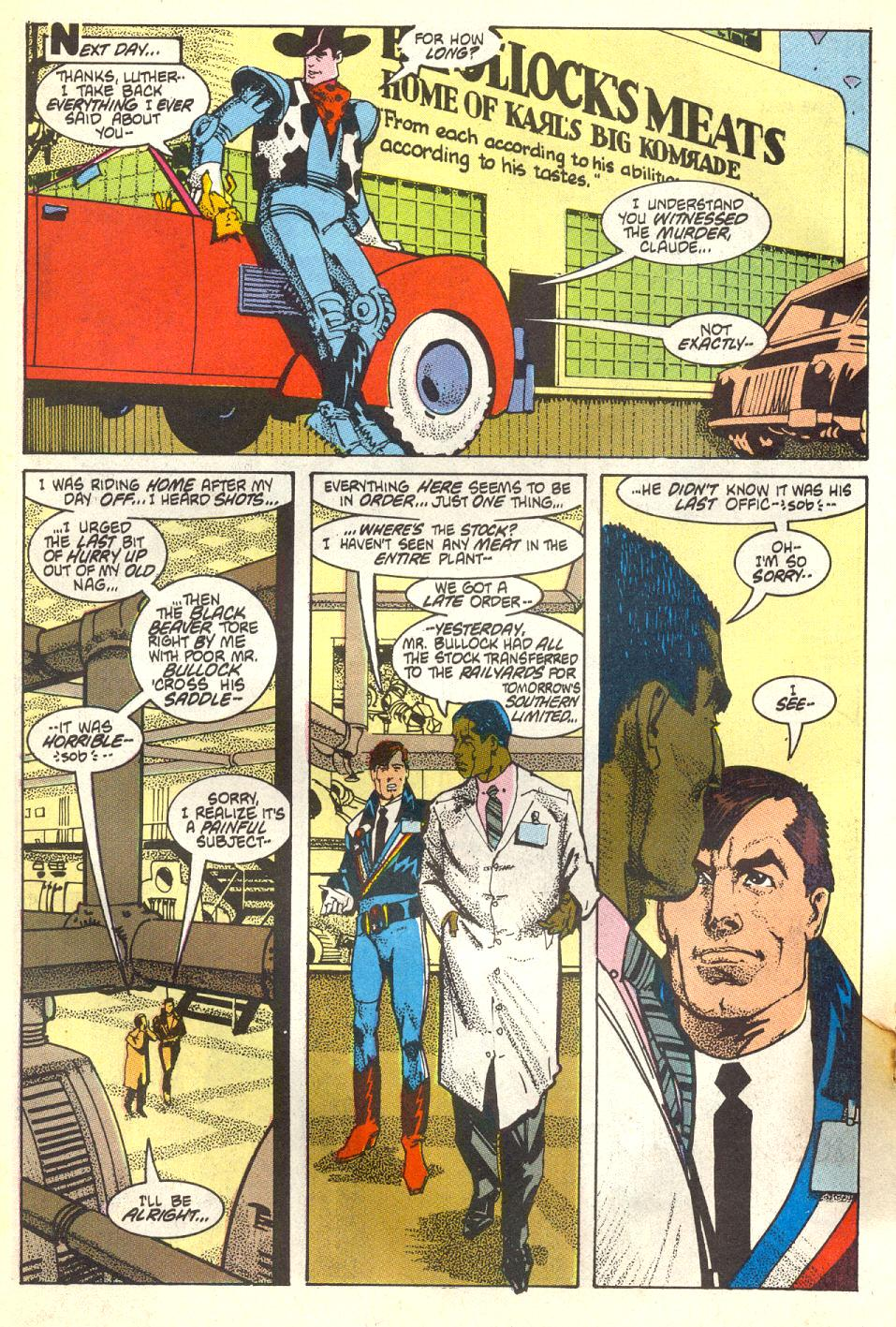 Read online American Flagg! comic -  Issue #17 - 17