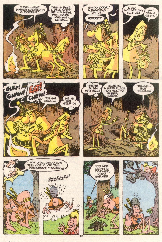 Read online Sergio Aragonés Groo the Wanderer comic -  Issue #80 - 17