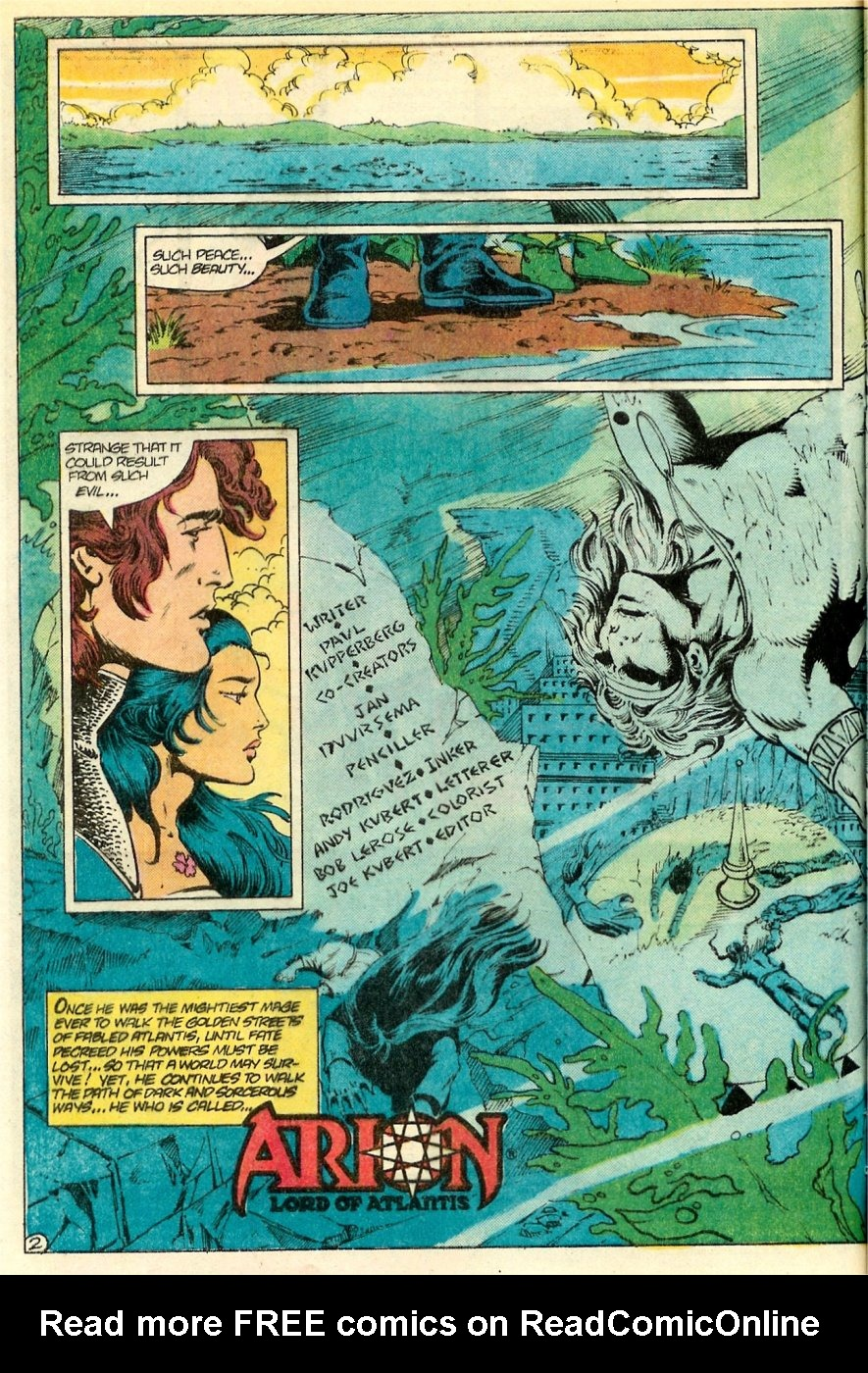 Read online Arion, Lord of Atlantis comic -  Issue #19 - 3