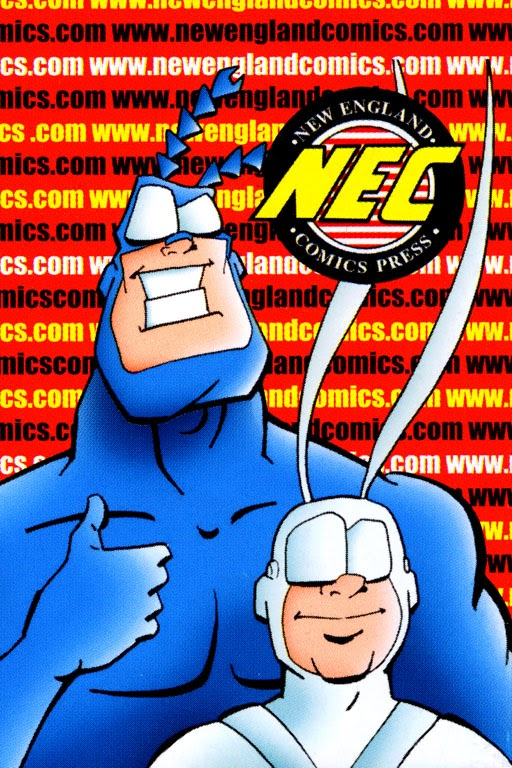 Read online The Tick: Days of Drama comic -  Issue #0 - 12