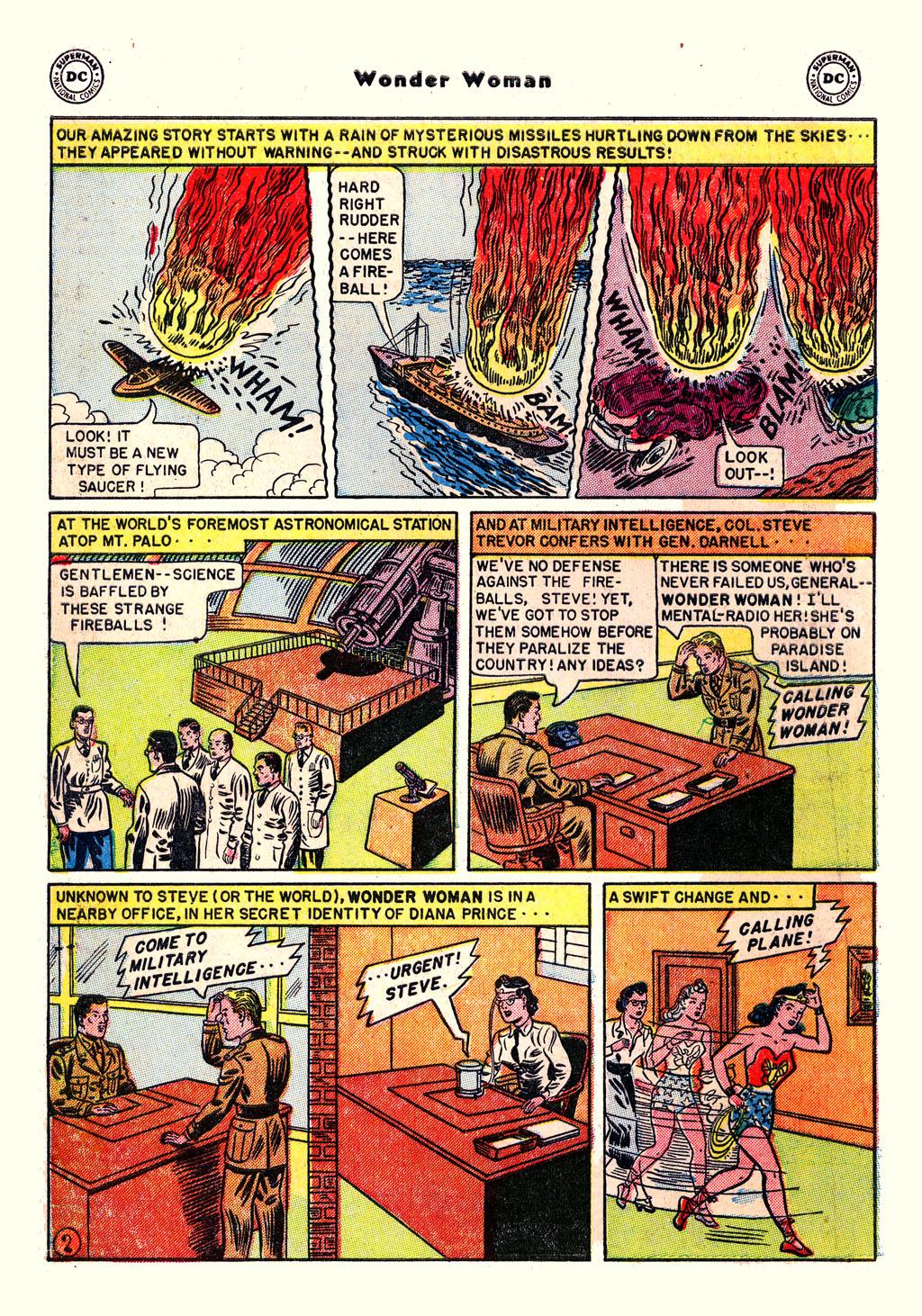 Read online Wonder Woman (1942) comic -  Issue #54 - 4