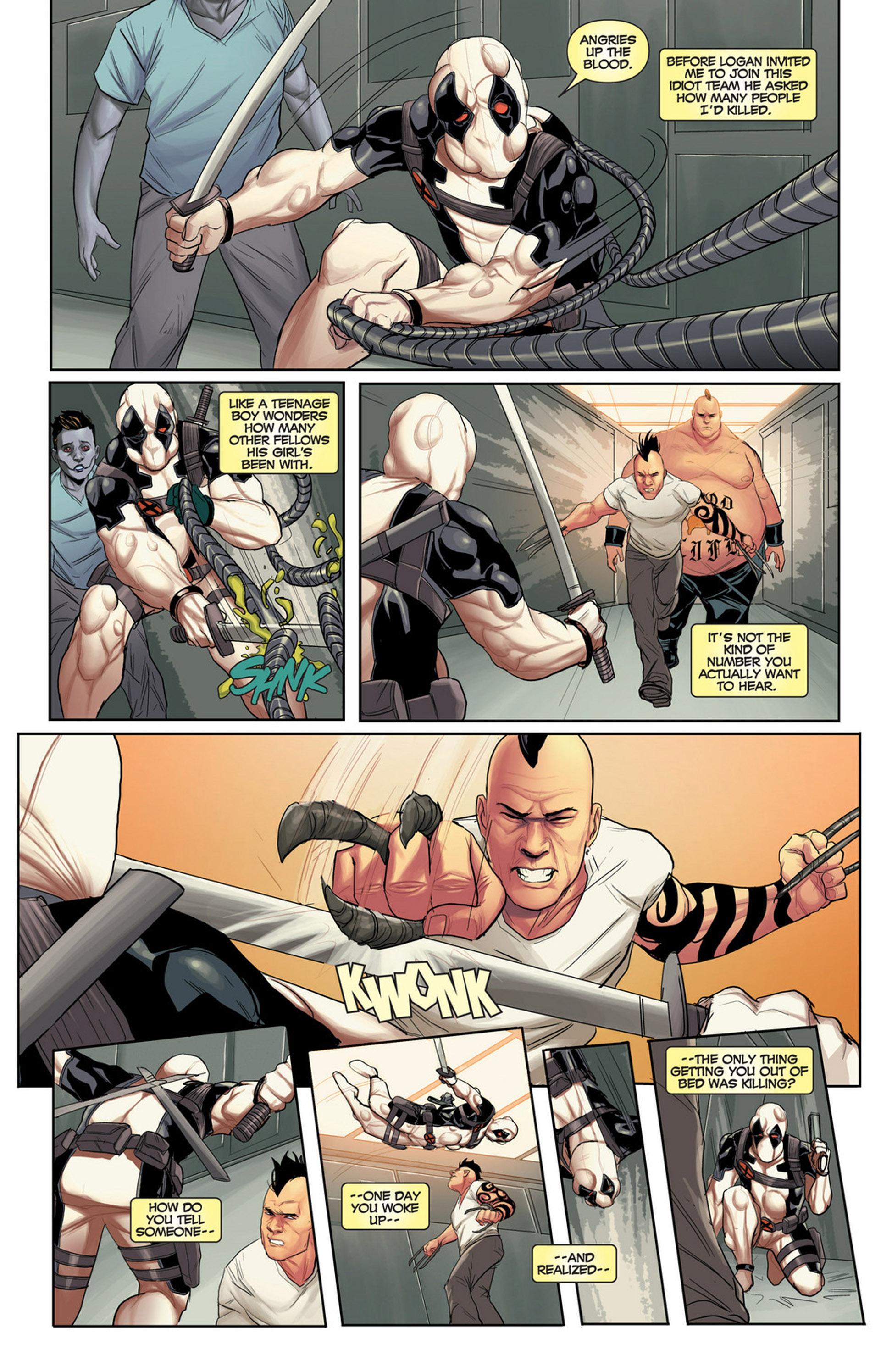 Uncanny X-Force (2010) #32 #34 - English 9