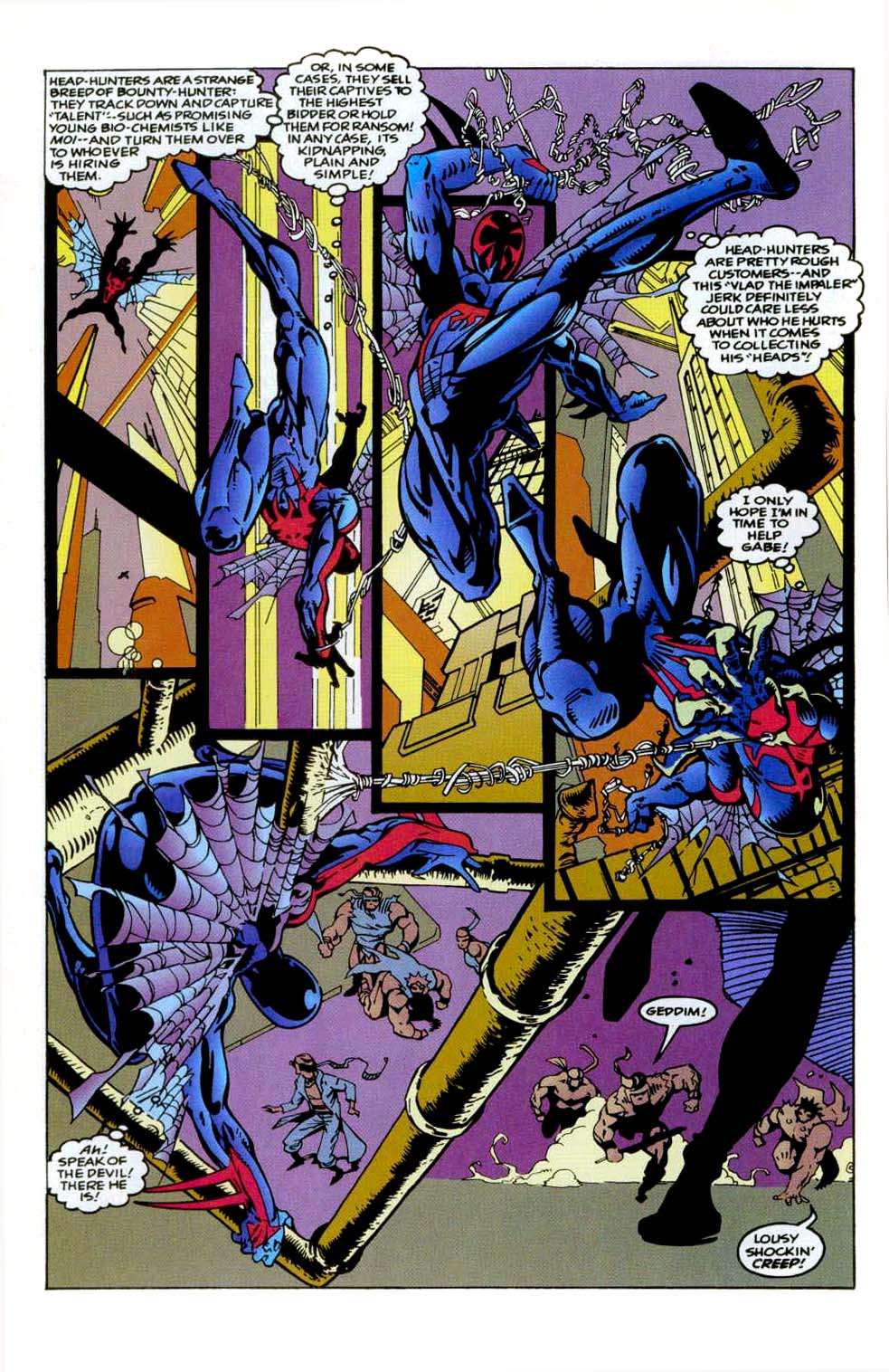 Read online 2099 Unlimited comic -  Issue #9 - 12
