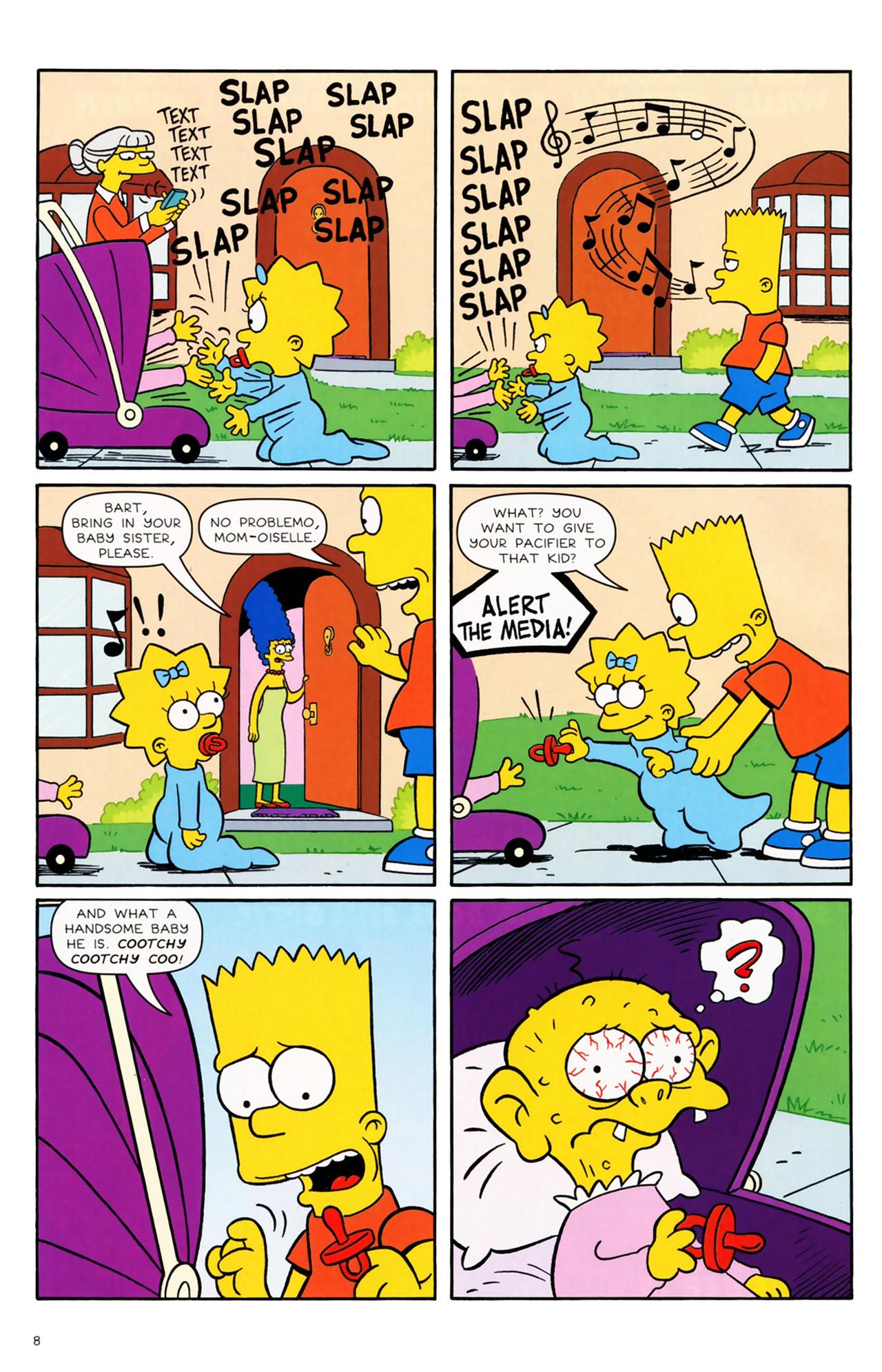 Read online Simpsons Comics comic -  Issue #170 - 7