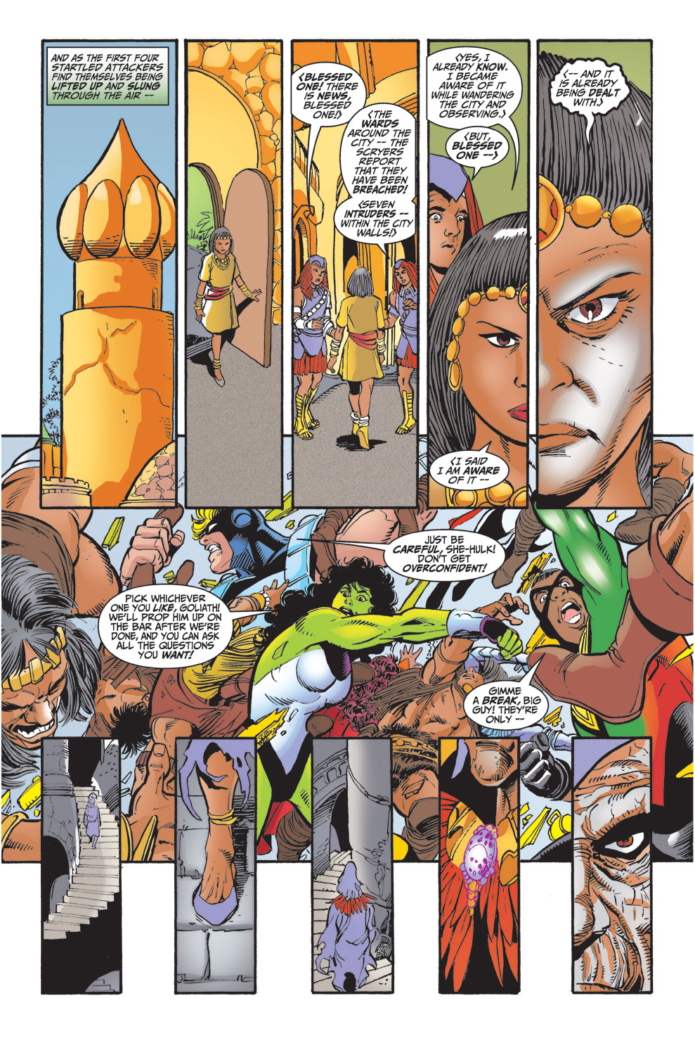 Read online Avengers (1998) comic -  Issue #29 - 17