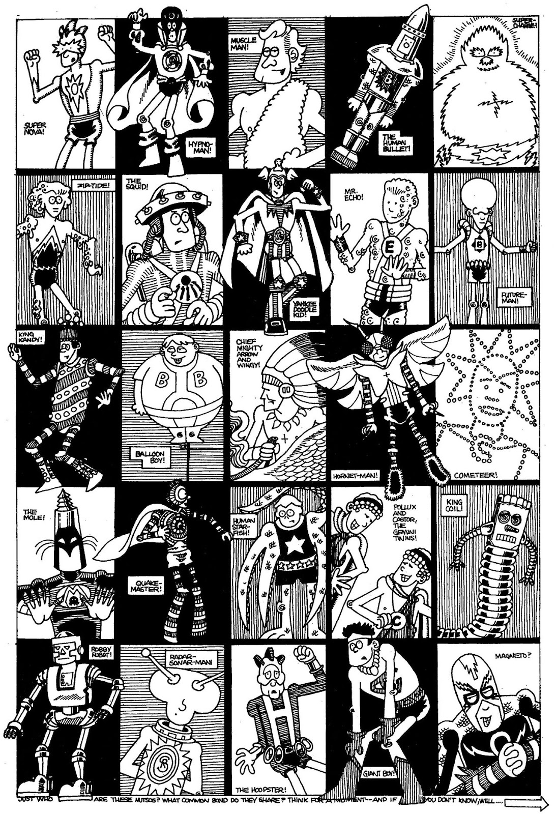 Read online The Nearly Complete Essential Hembeck Archives Omnibus comic -  Issue # TPB (Part 1) - 95