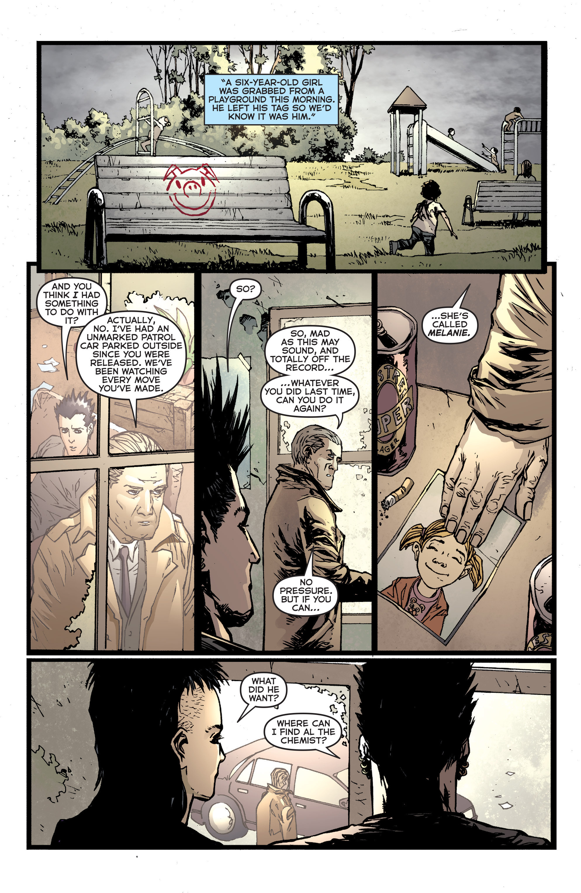Read online Second Sight comic -  Issue #2 - 14