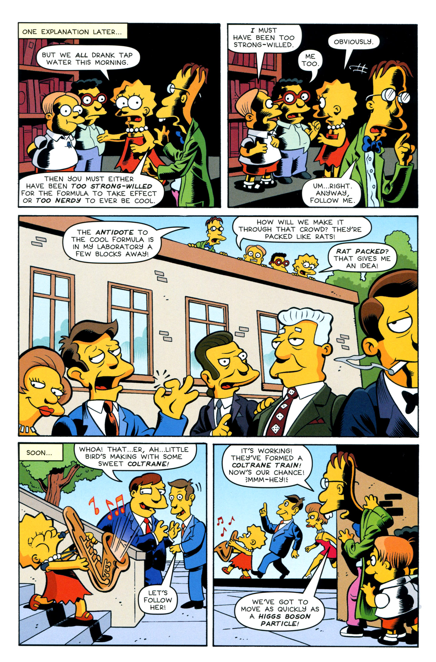 Read online Simpsons One-Shot Wonders: Professor Frink comic -  Issue # Full - 7