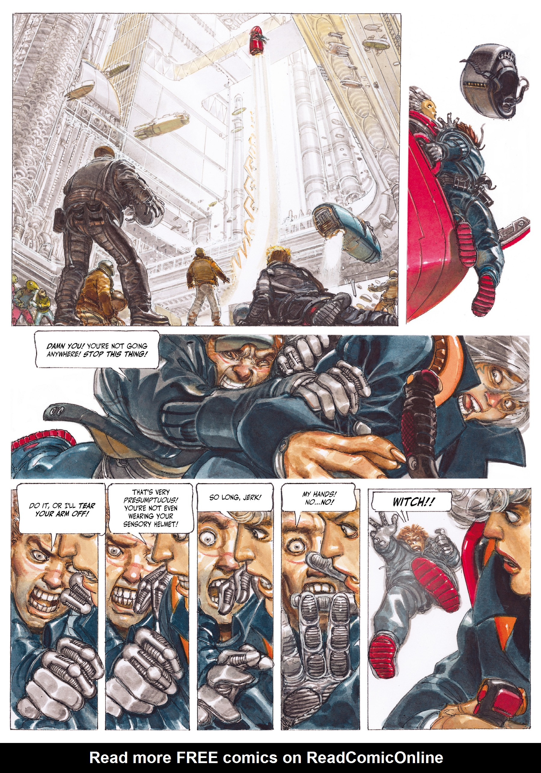 Read online The Fourth Power comic -  Issue #2 - 36