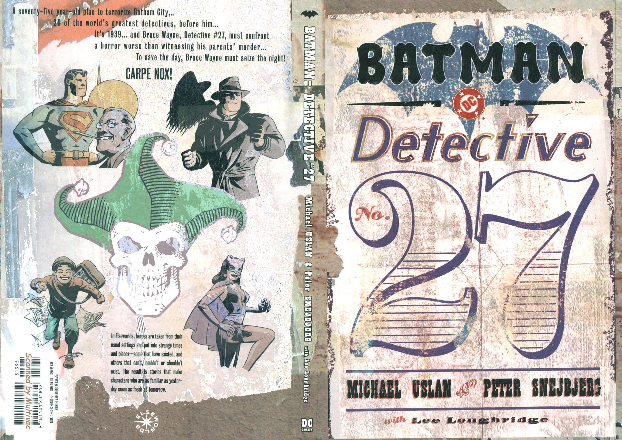 Read online Batman: Detective #27 comic -  Issue #27 TPB - 3