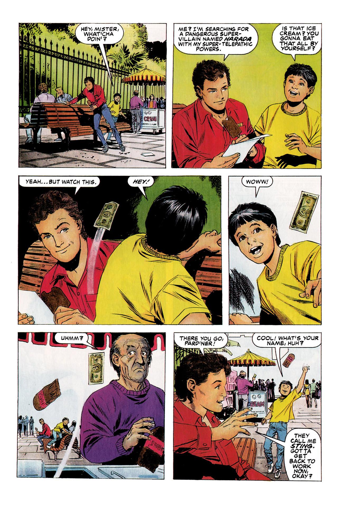 Read online Harbinger (1992) comic -  Issue #5 - 4