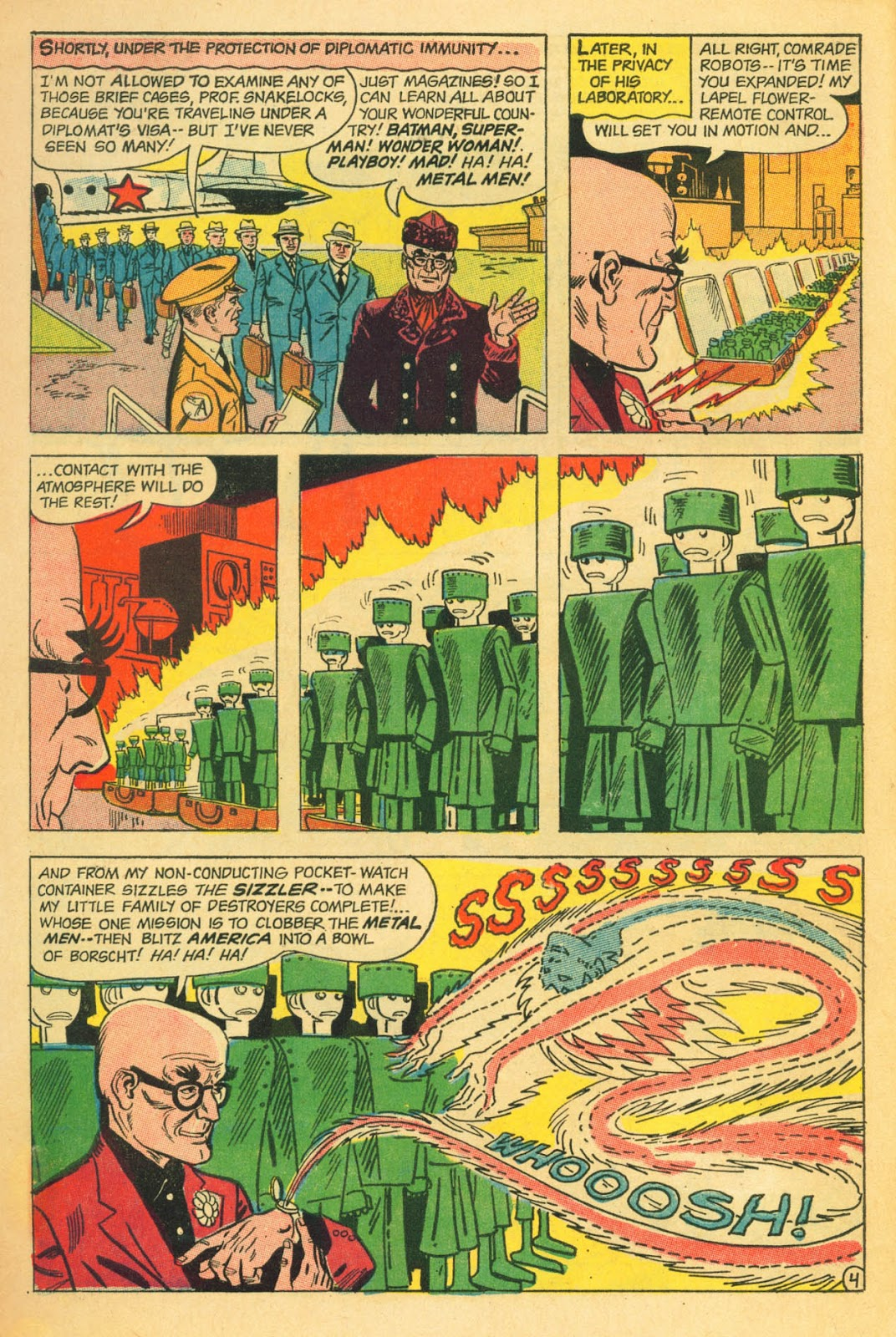 Metal Men (1963) issue 22 - Page 6