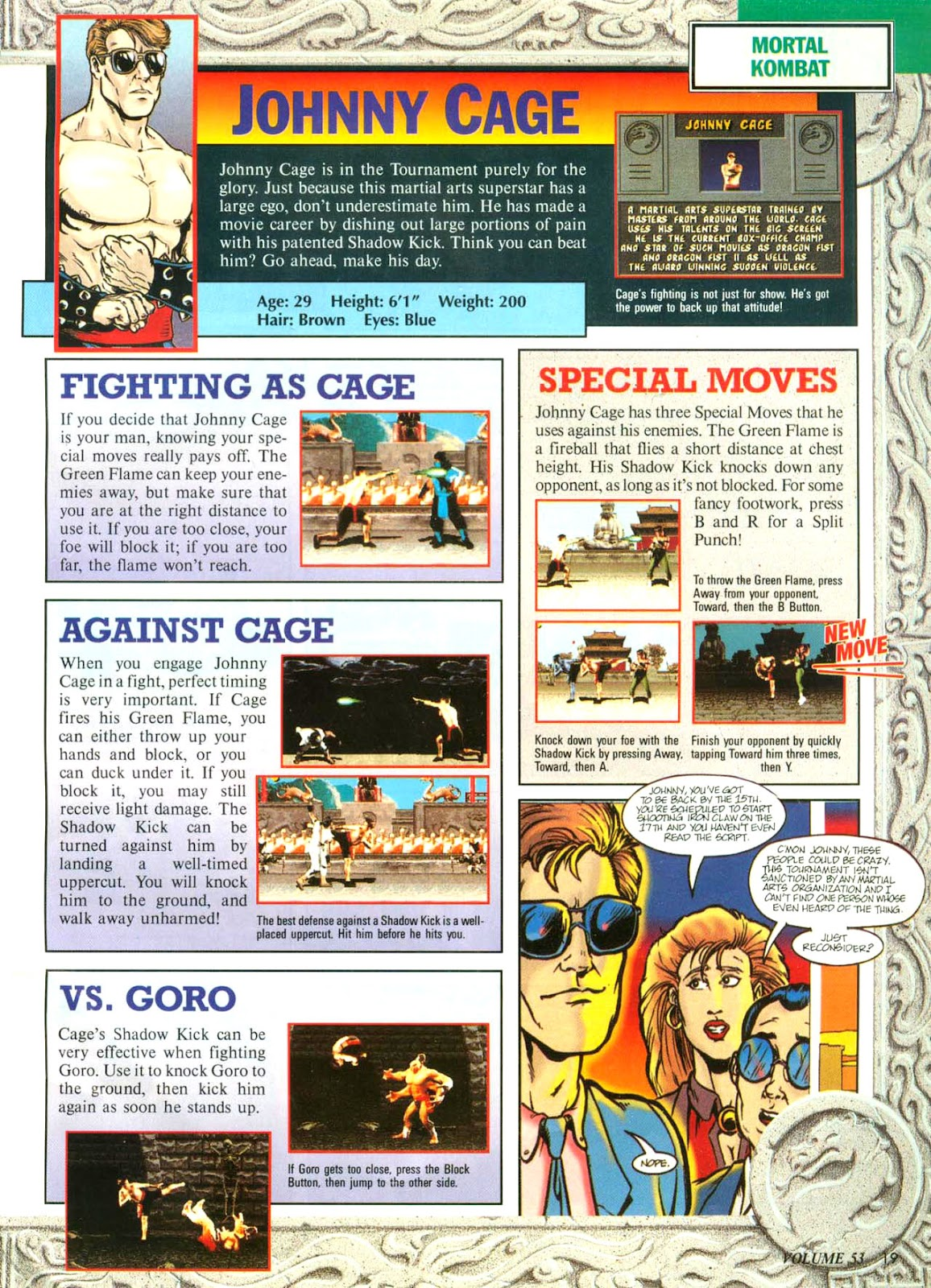 Comic Nintendo Power issue 53