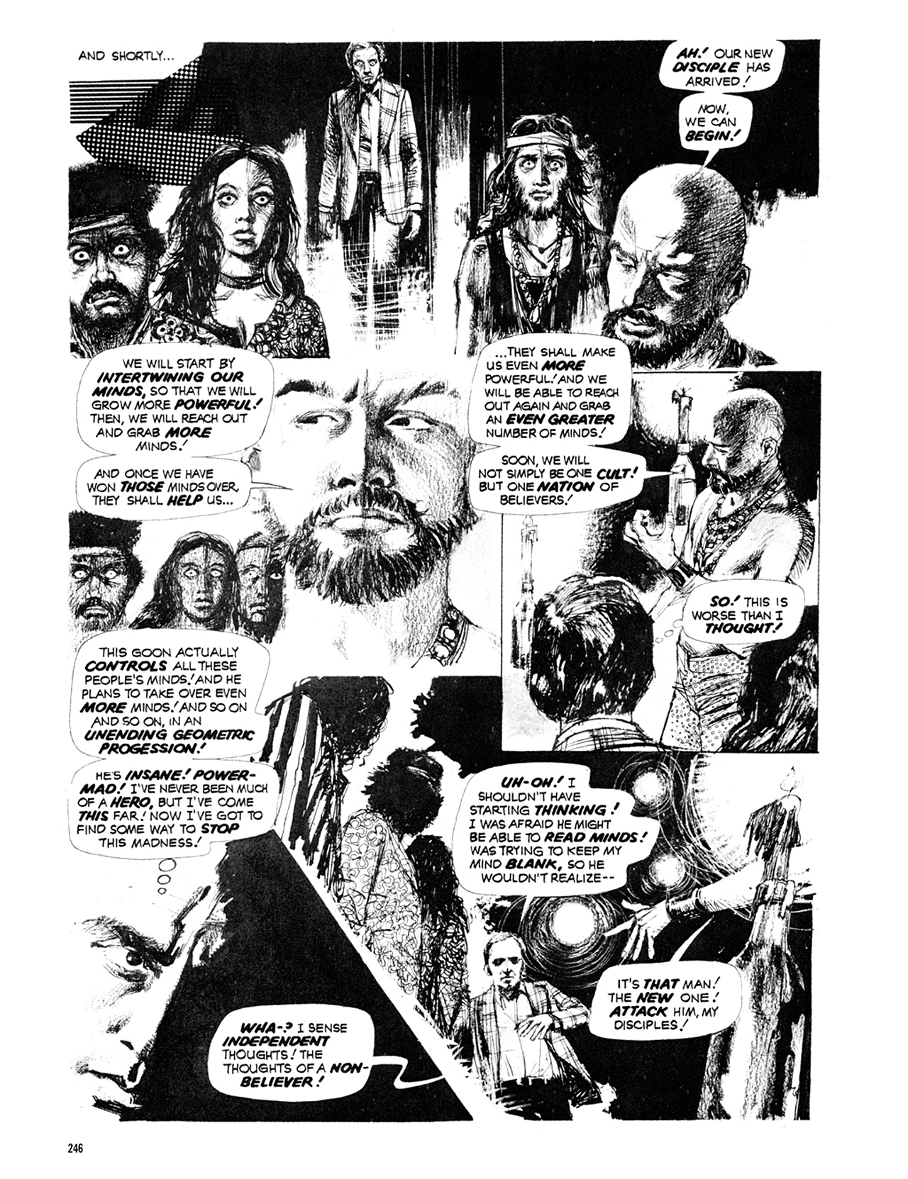 Read online Eerie Archives comic -  Issue # TPB 10 - 247