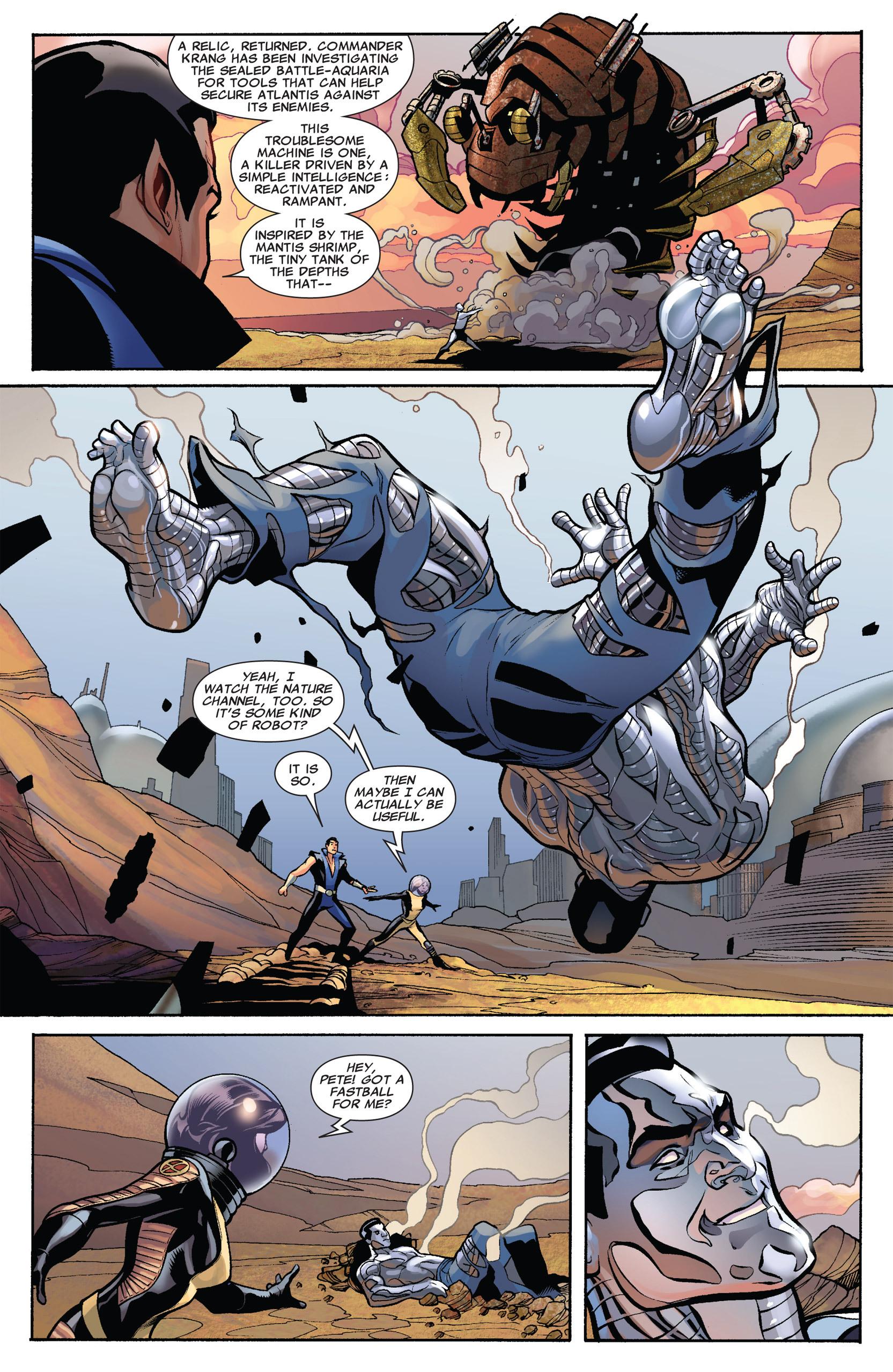 Read online Uncanny X-Men (1963) comic -  Issue #535 - 6