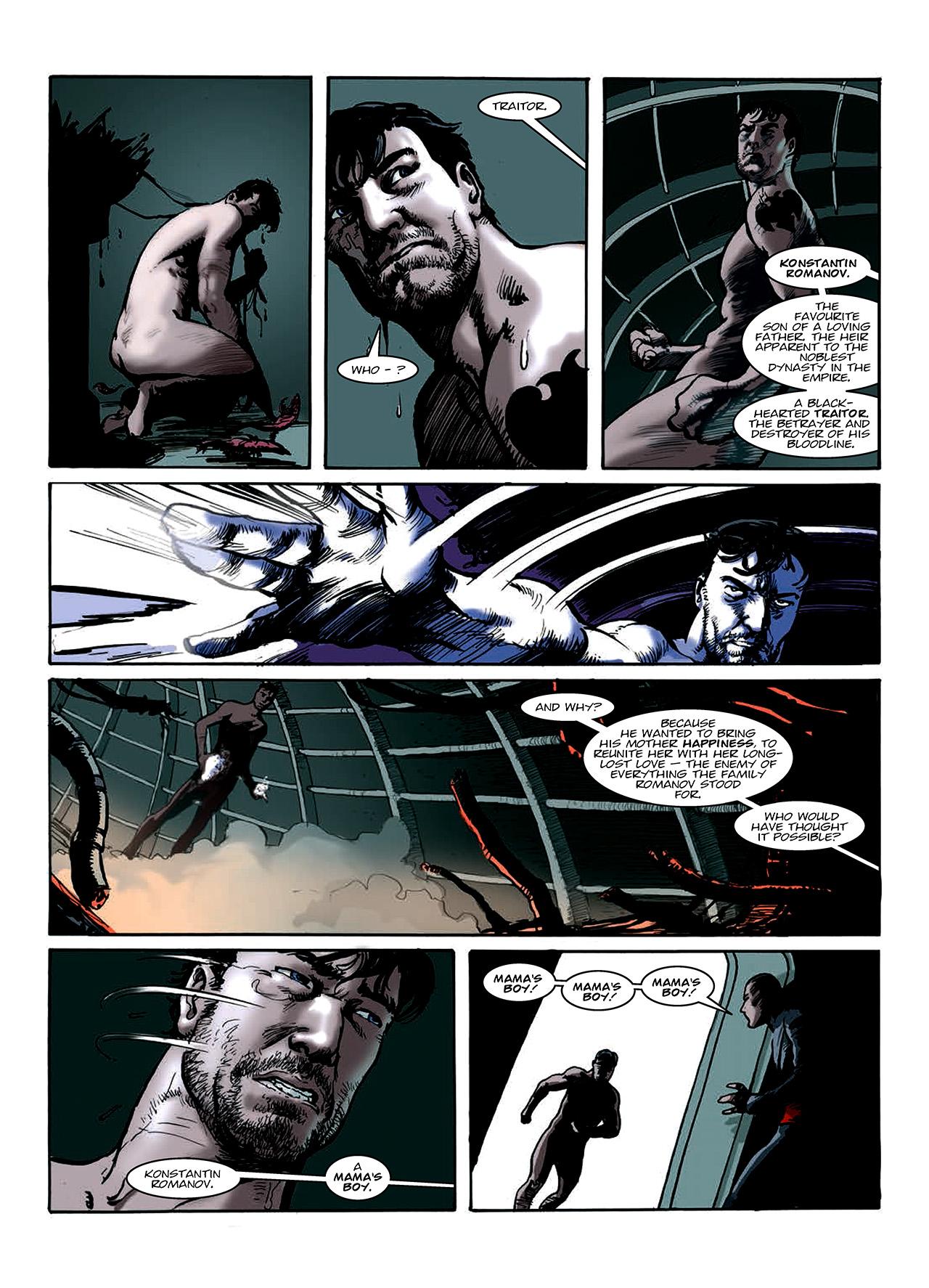 Read online Nikolai Dante comic -  Issue # TPB 10 - 130