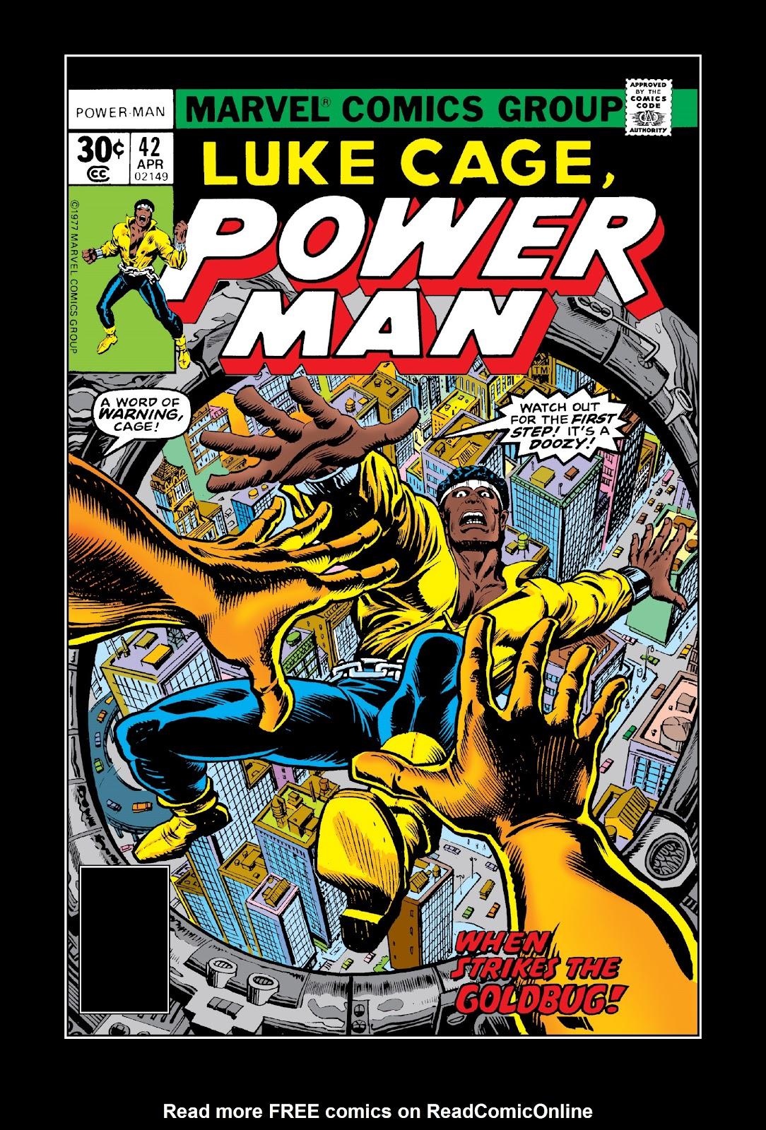 Read online Marvel Masterworks: Luke Cage, Power Man comic -  Issue # TPB 3 (Part 3) - 9