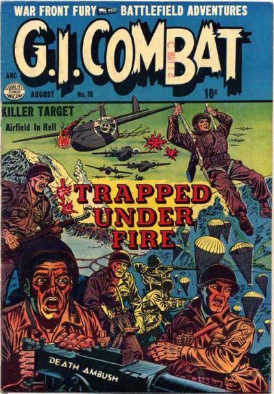 G.I. Combat (1952) 16 Page 1
