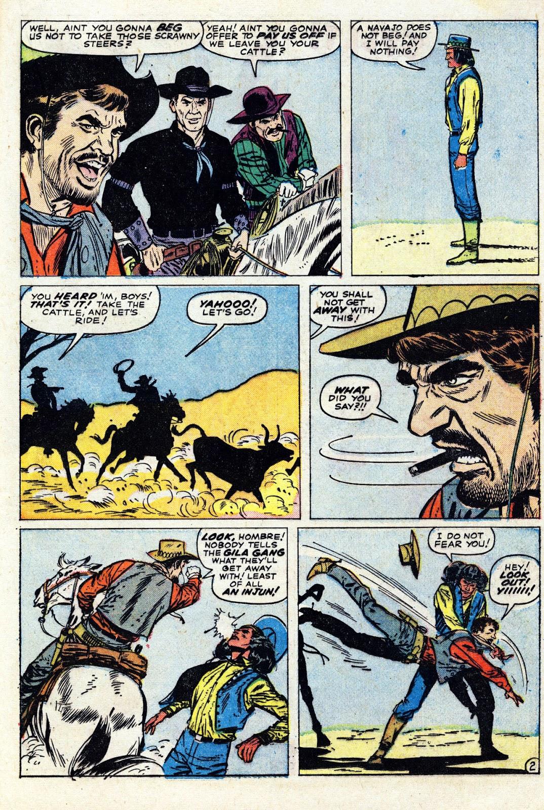 Gunsmoke Western issue 76 - Page 21