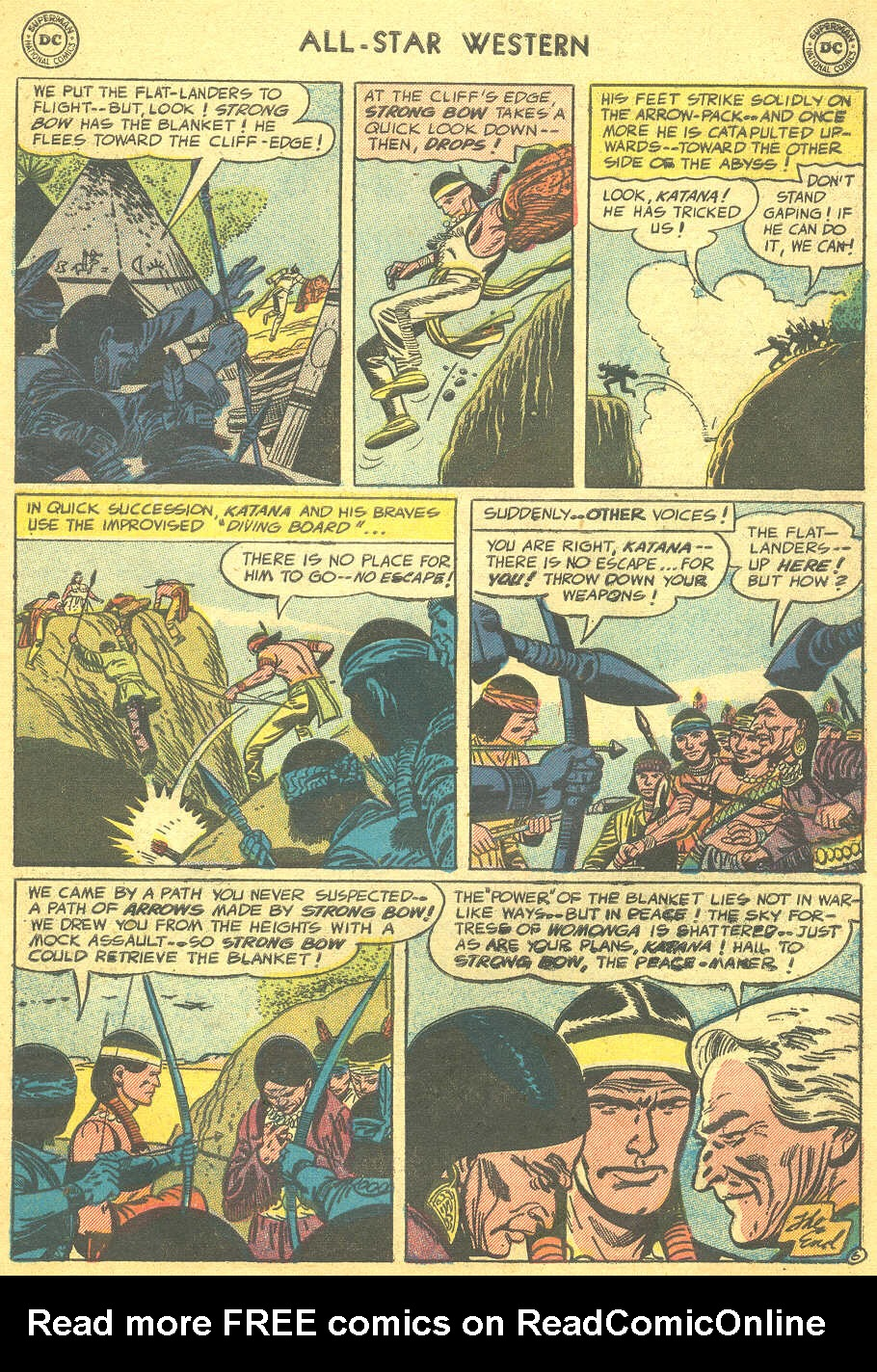 Read online All-Star Western (1951) comic -  Issue #88 - 33