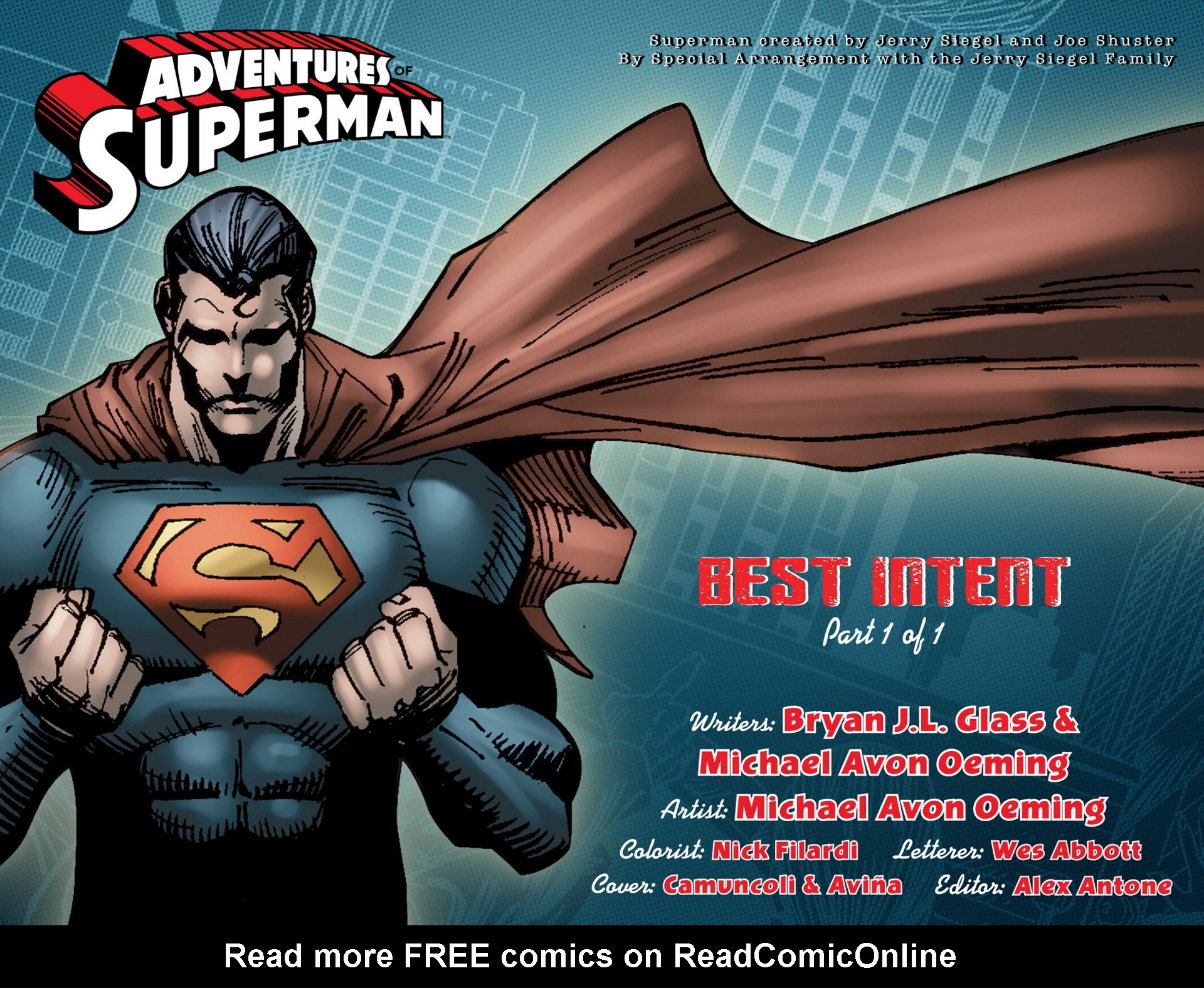 Read online Adventures of Superman [I] comic -  Issue #6 - 2