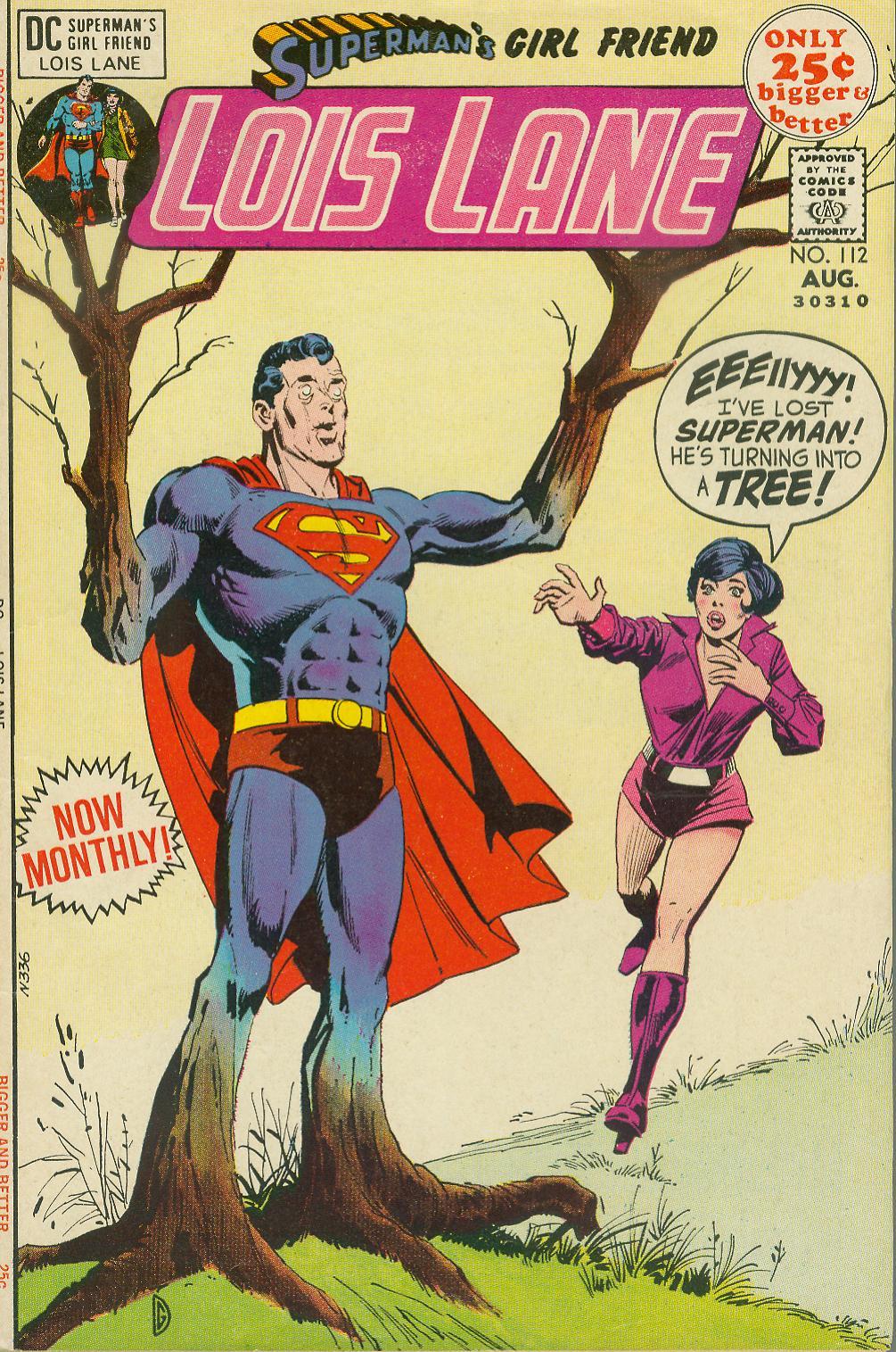Supermans Girl Friend, Lois Lane 112 Page 1