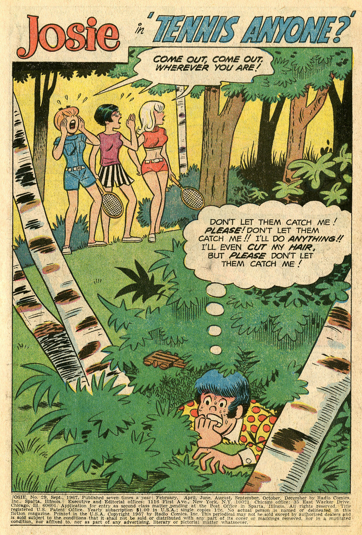 Read online She's Josie comic -  Issue #29 - 3