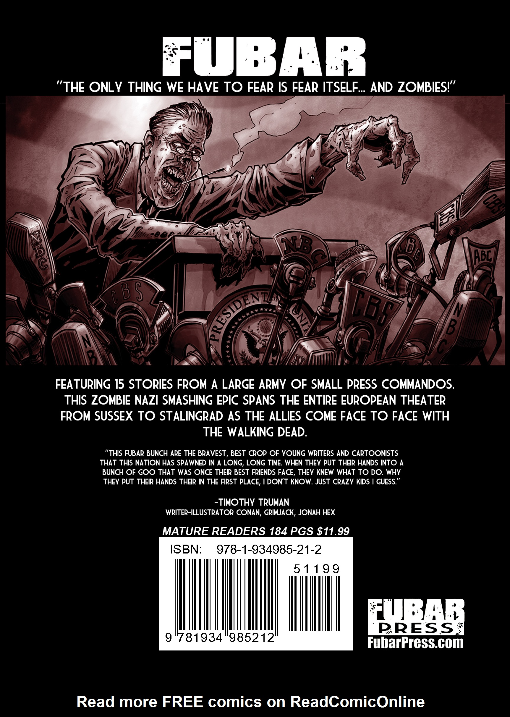 Read online FUBAR comic -  Issue #1 - 186