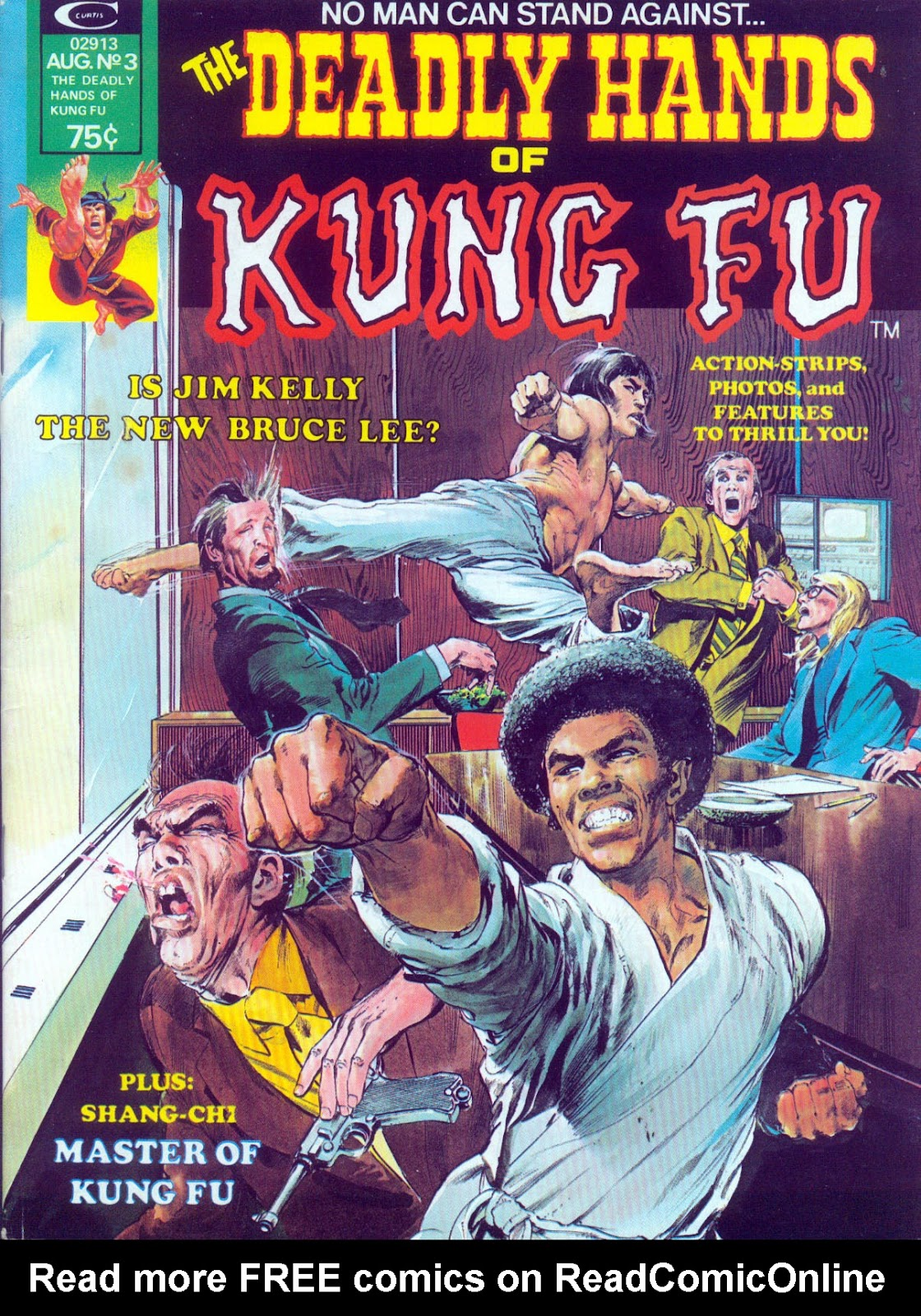 The Deadly Hands of Kung Fu issue 3 - Page 1