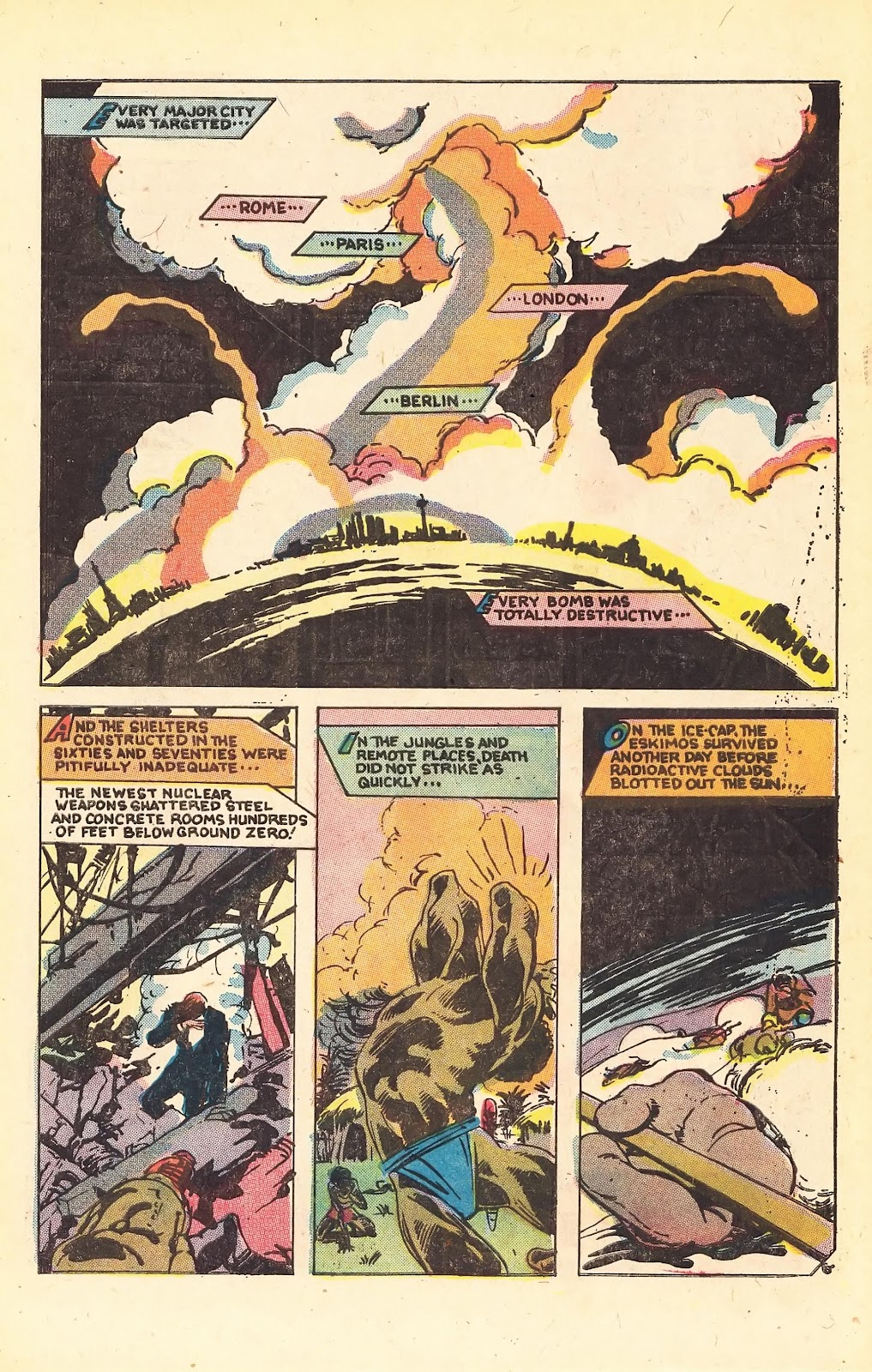 Read online Doomsday   1 (1975) comic -  Issue #1 - 9
