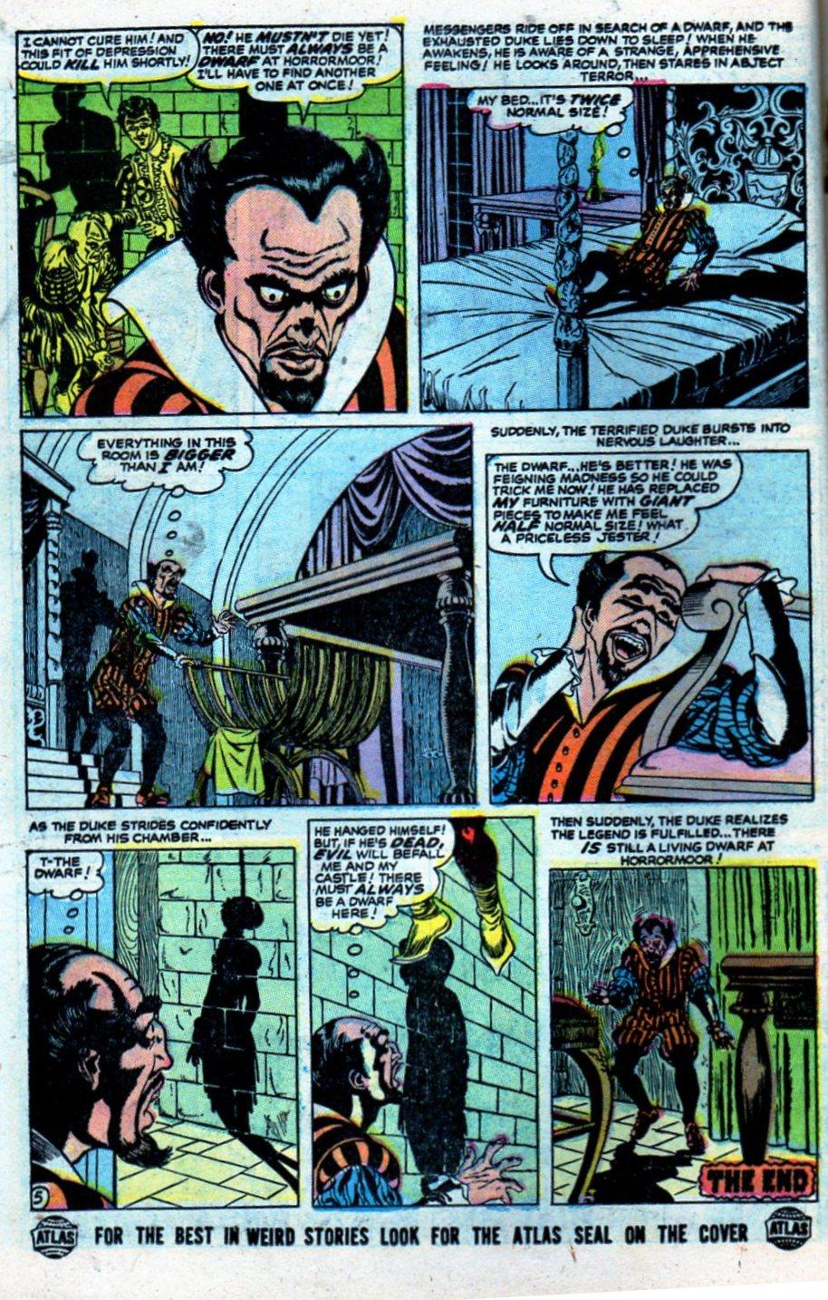 Read online Adventures into Weird Worlds comic -  Issue #27 - 15